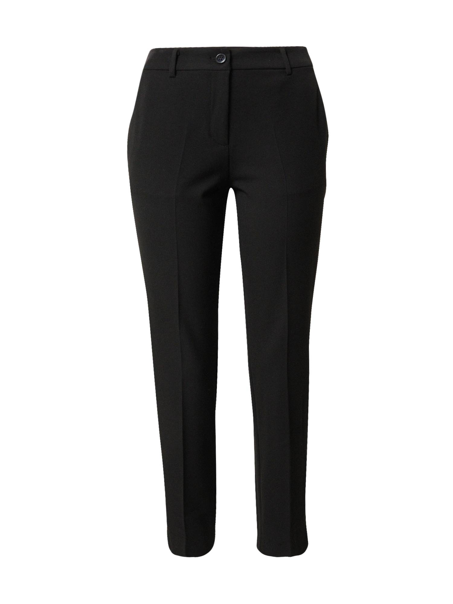 MINE TO FIVE Pantalon à plis  - Noir - Taille: 40 - female