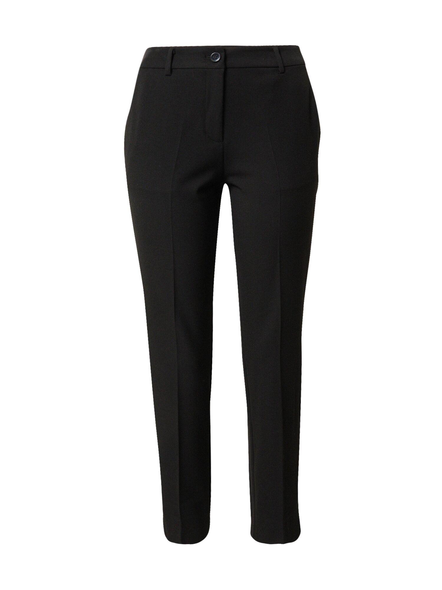 MINE TO FIVE Pantalon à plis  - Noir - Taille: 34 - female