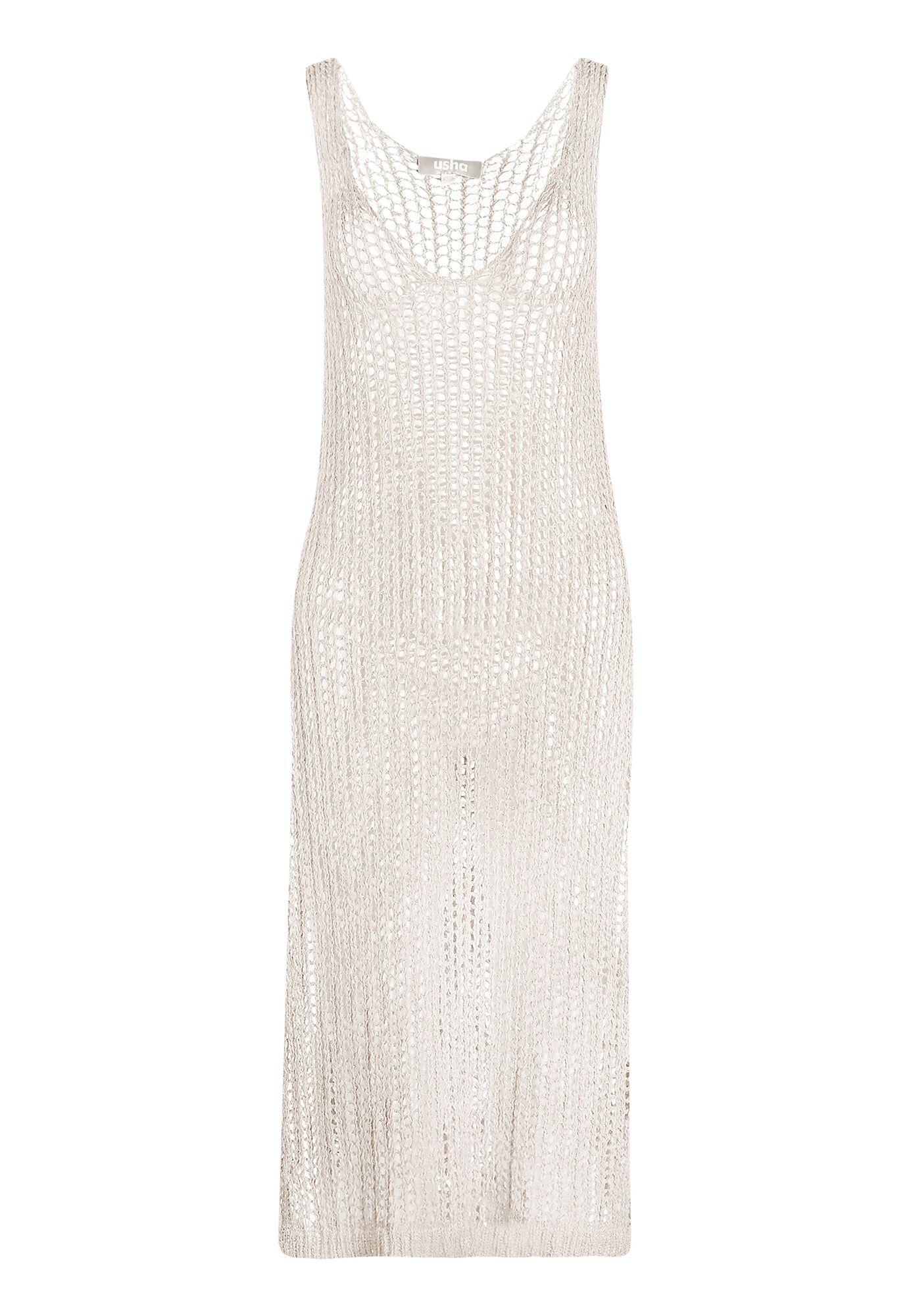 Usha Vêtement de plage  - Beige - Taille: 42-44 - female
