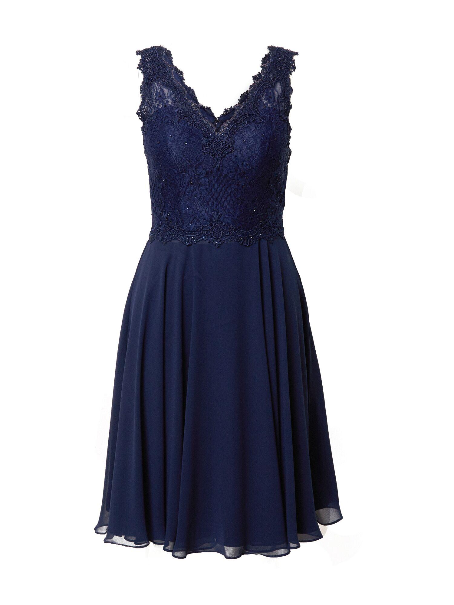 mascara Robe de cocktail  - Bleu - Taille: 38 - female