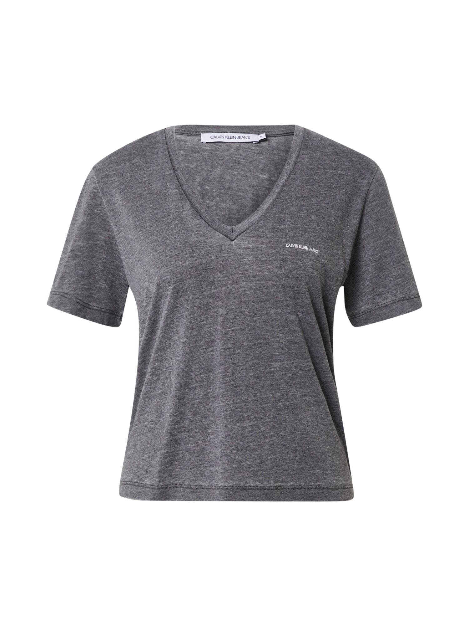 Calvin T-shirt 'BURN OUT'  - Noir - Taille: S - female