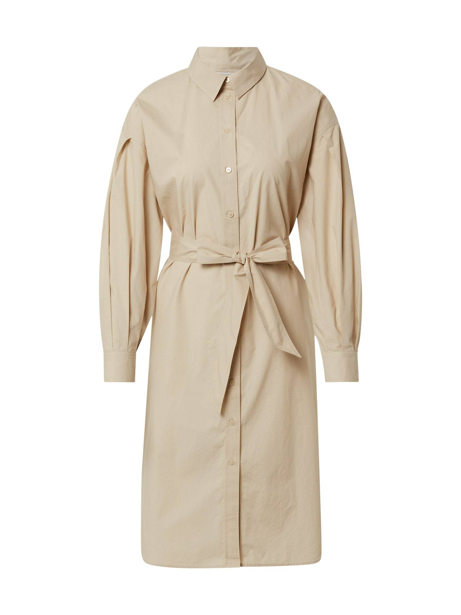 MINE TO FIVE Robe-chemise  - Beige - Taille: 38 - female