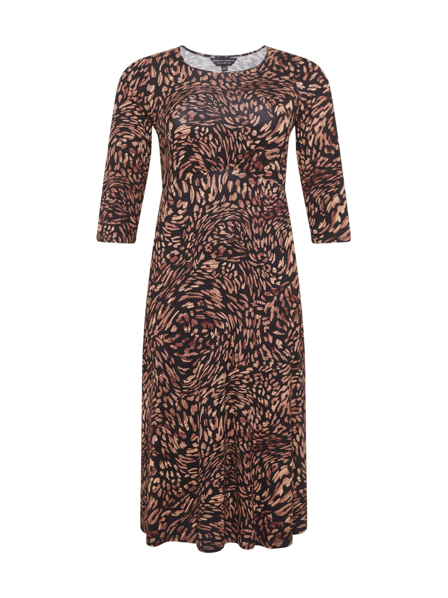 Dorothy Perkins Curve Robe  - Noir - Taille: 50 - female