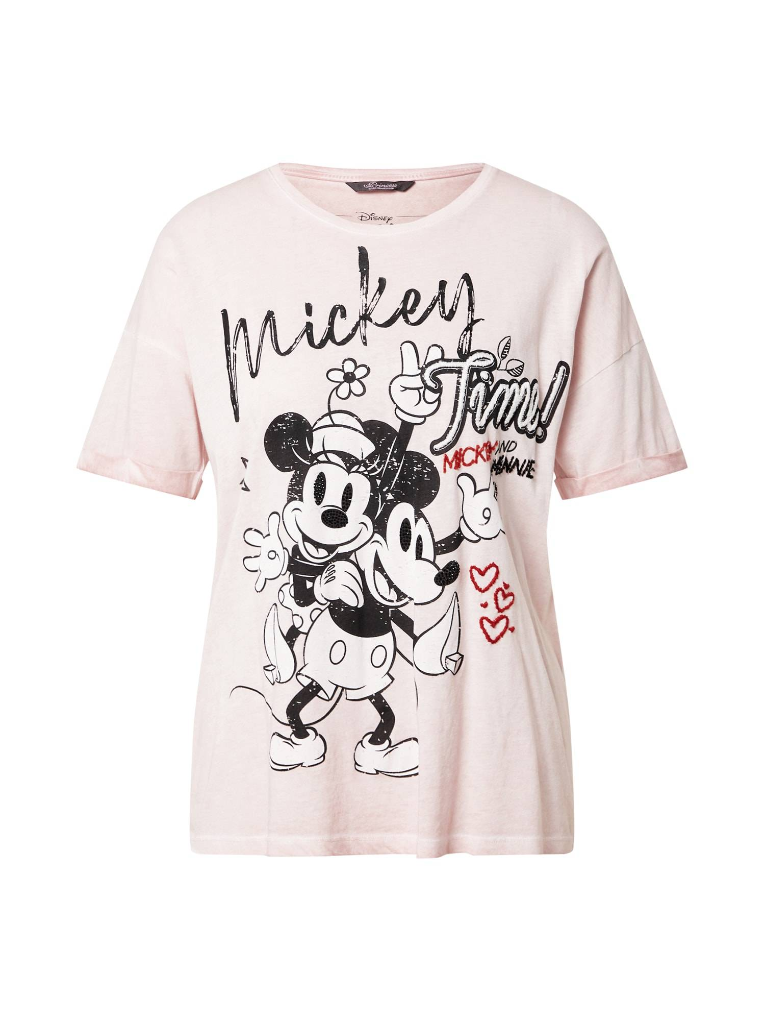 Princess T-shirt  - Rose - Taille: 34 - female