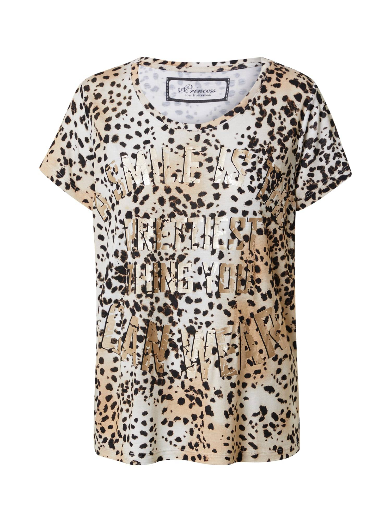 Princess T-shirt  - Beige - Taille: 38 - female