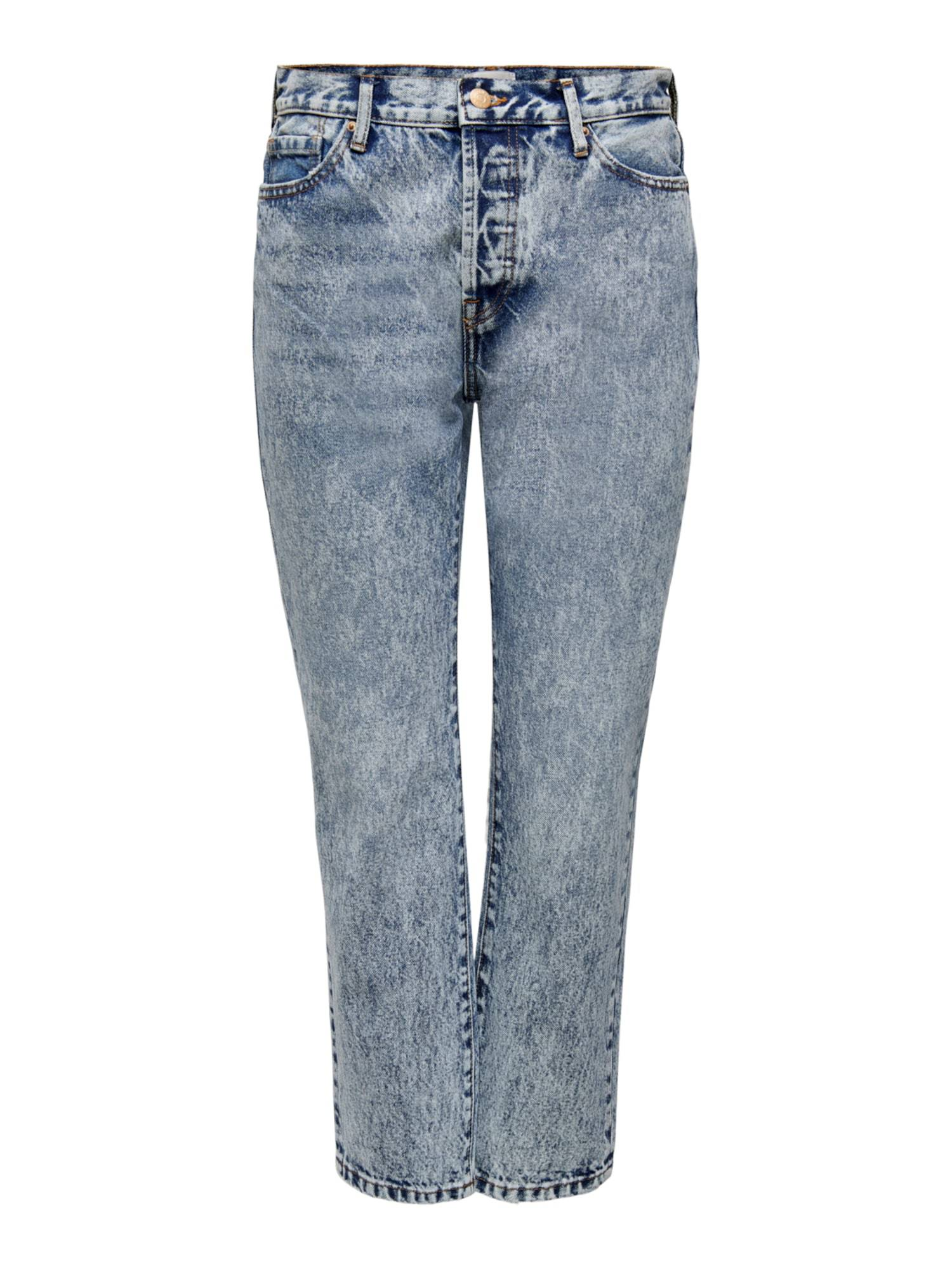 ONLY Jean 'Fine Life'  - Bleu - Taille: 33 - female