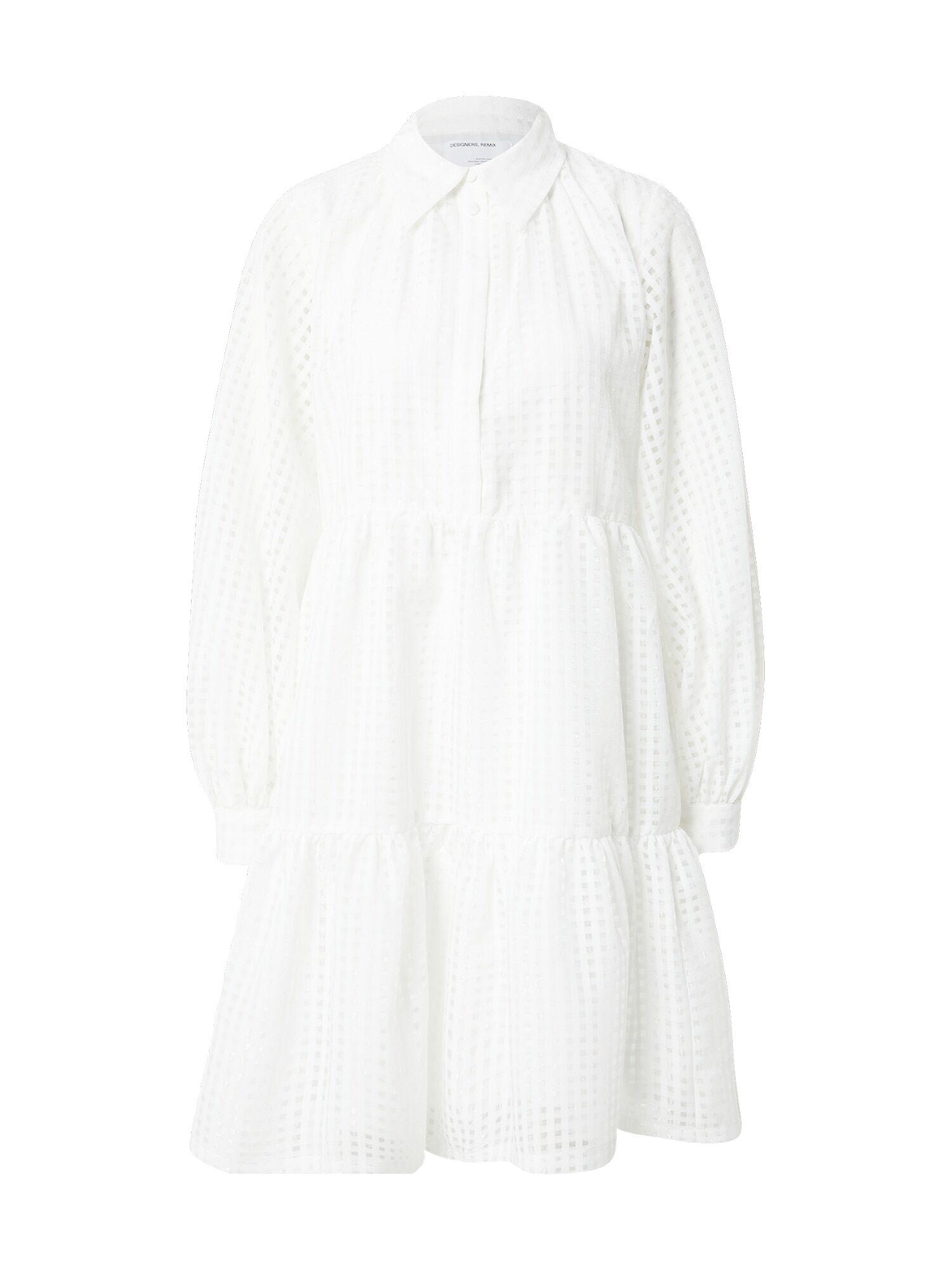 Designers Remix Robe-chemise  - Beige - Taille: 36 - female