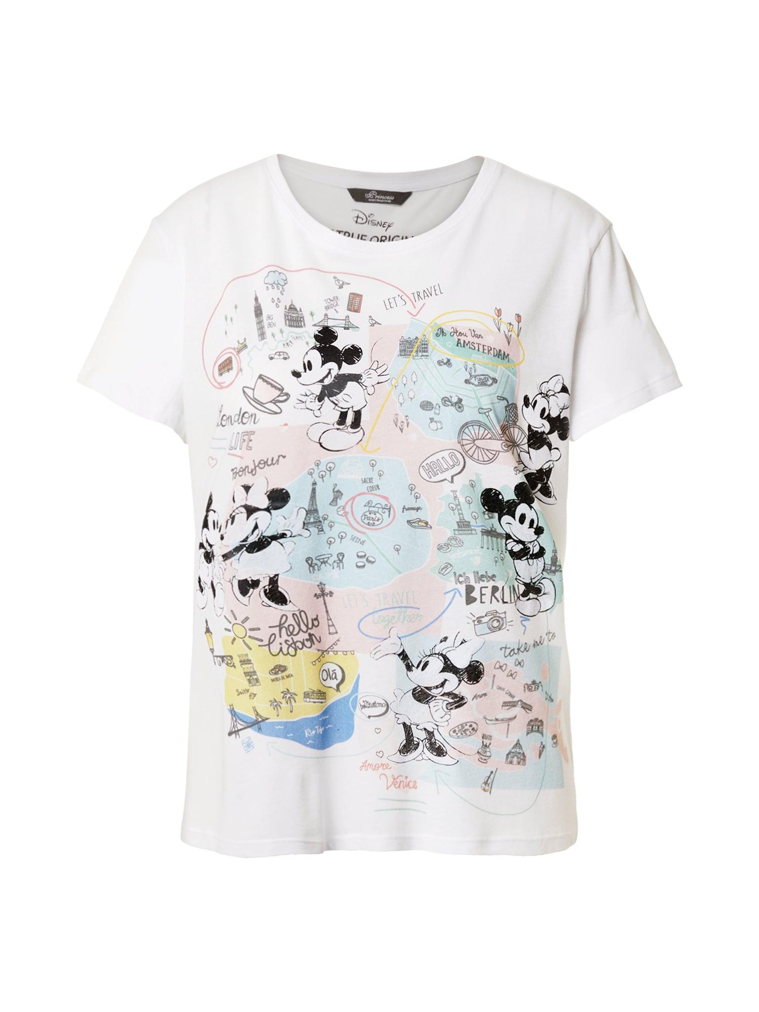 Princess T-shirt 'Mickey'  - Blanc - Taille: 42 - female