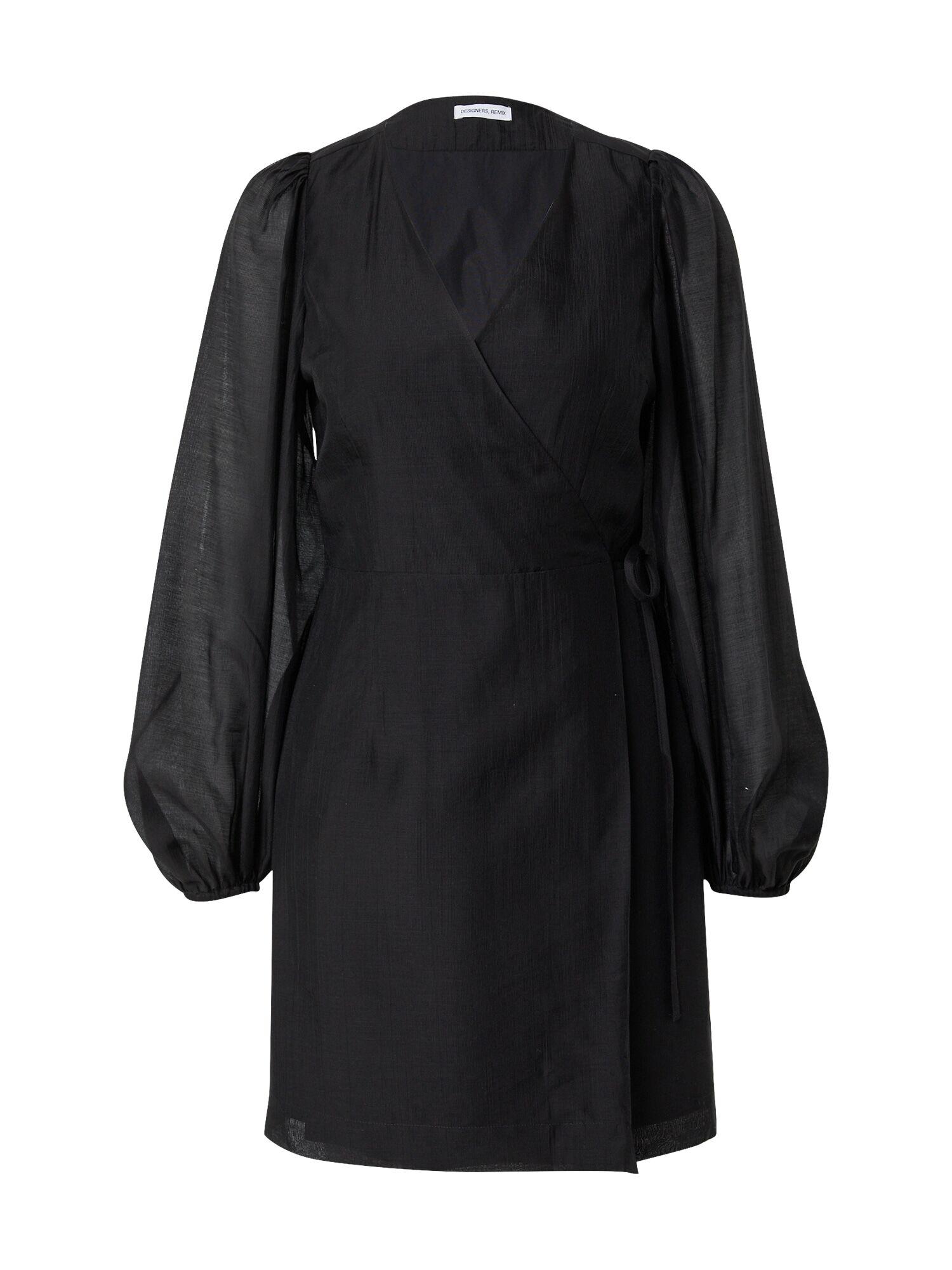 Designers Remix Robe 'Sonia'  - Noir - Taille: 38 - female