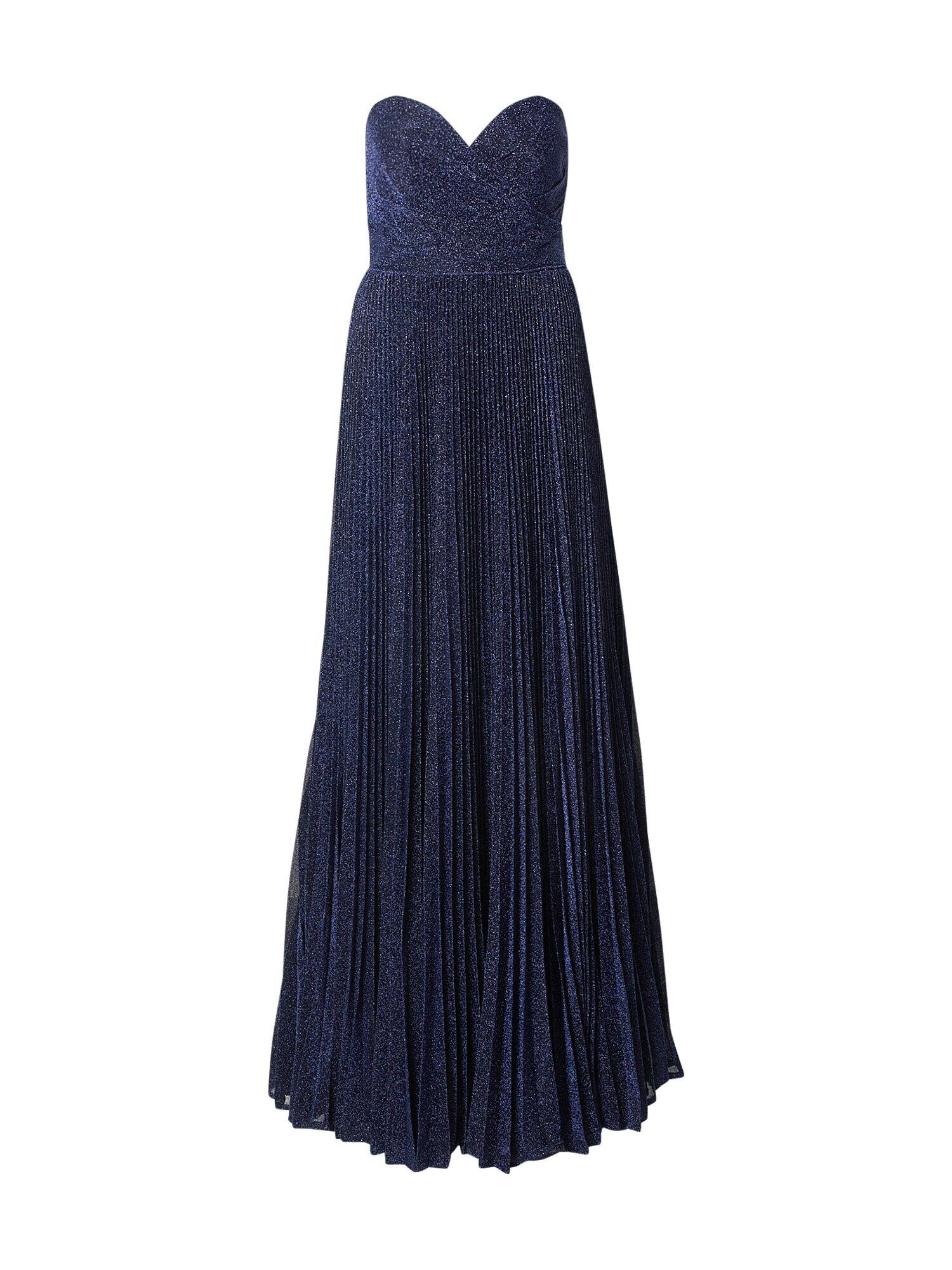 mascara Robe de soirée  - Bleu - Taille: 36 - female