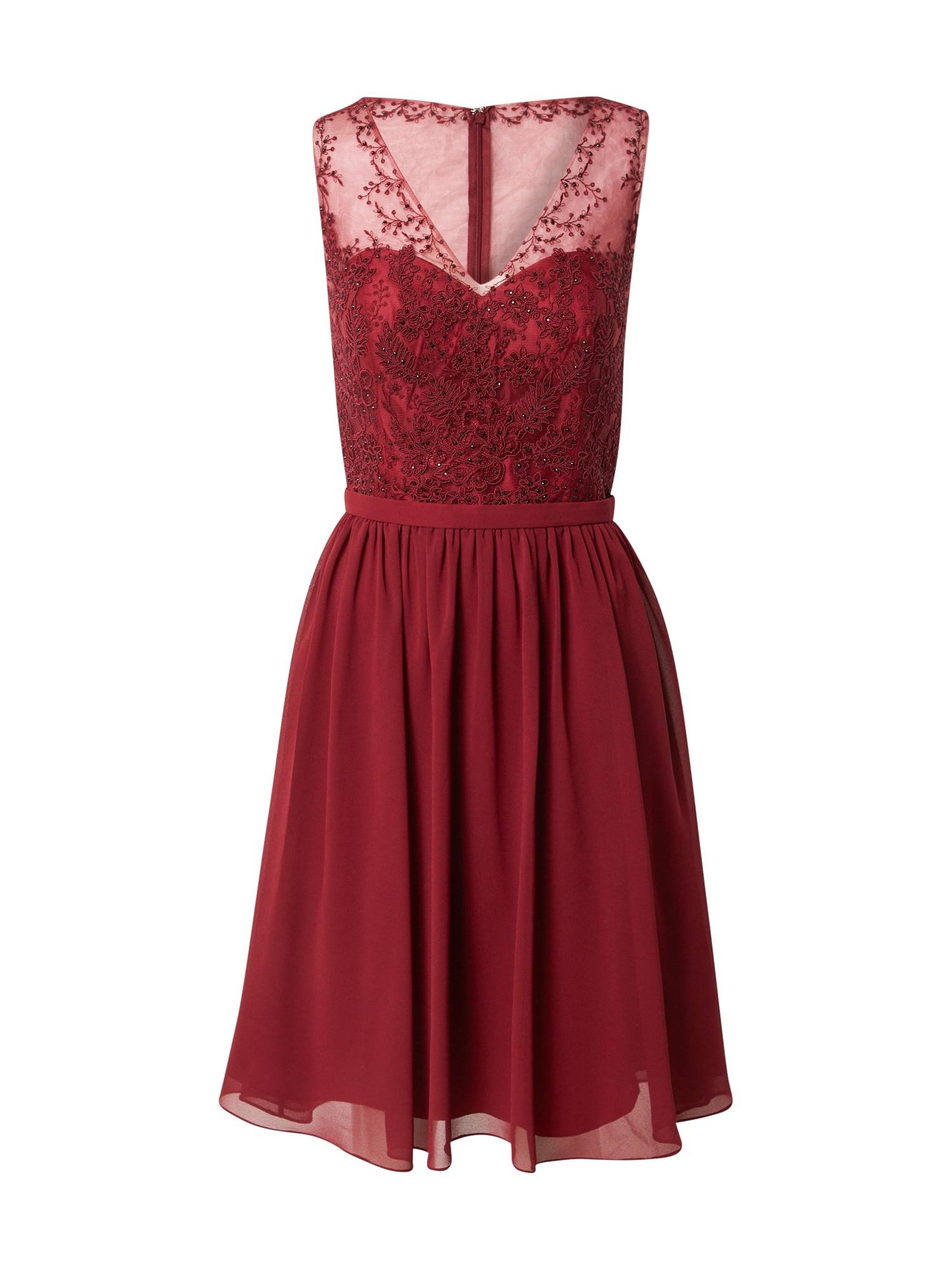 mascara Robe de cocktail  - Rouge - Taille: 32 - female