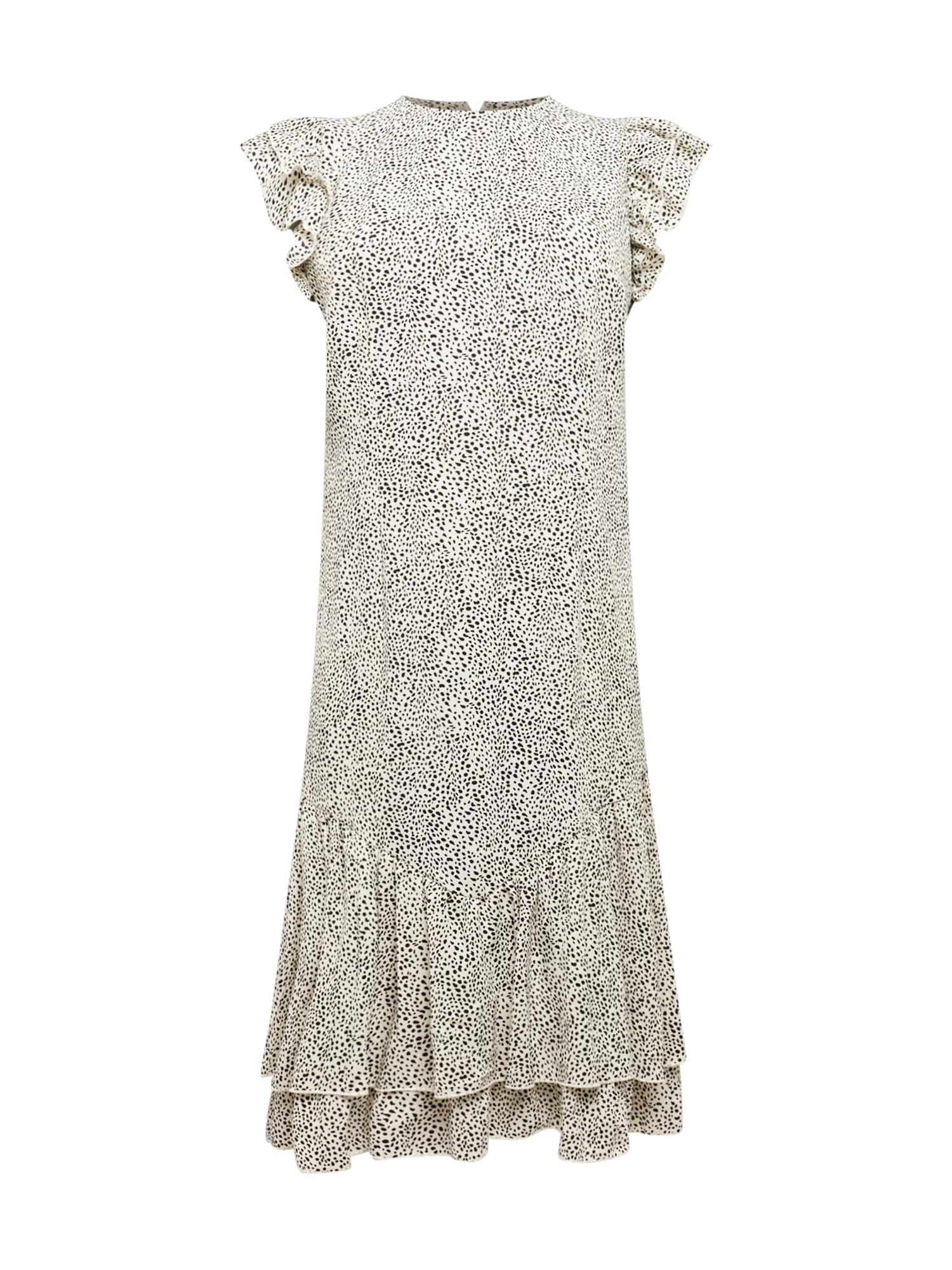 Chi Chi Curve Robe 'Ama'  - Blanc - Taille: 46 - female