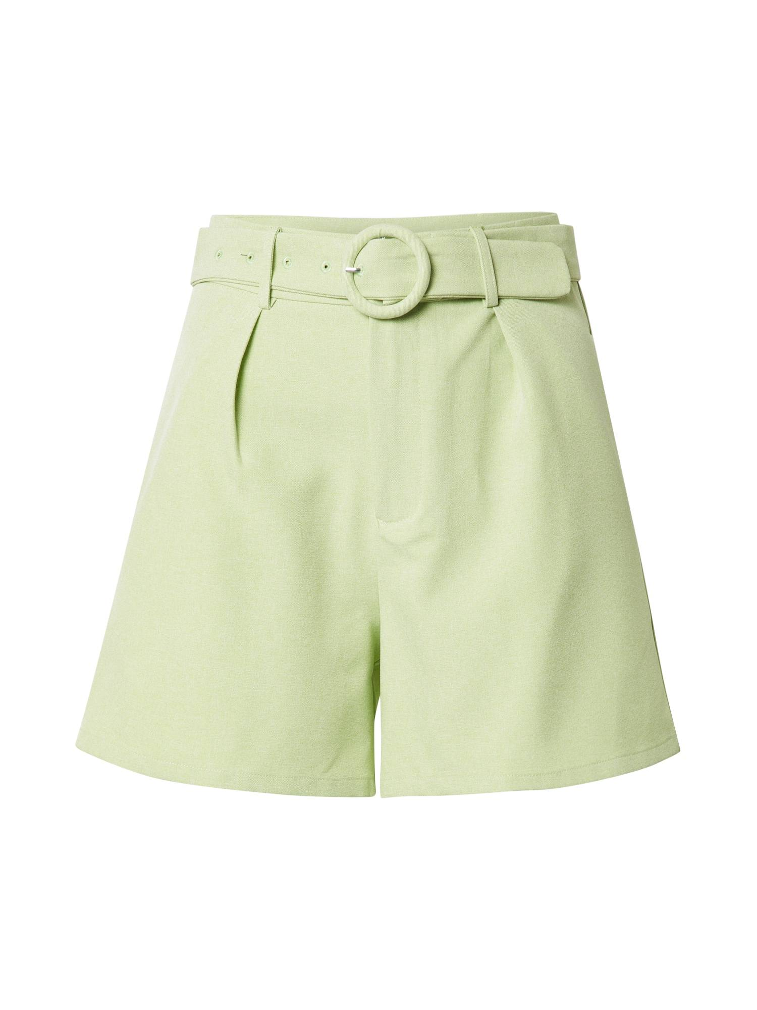 Fashion Union Pantalon à pince 'JESSIE'  - Vert - Taille: 16 - female