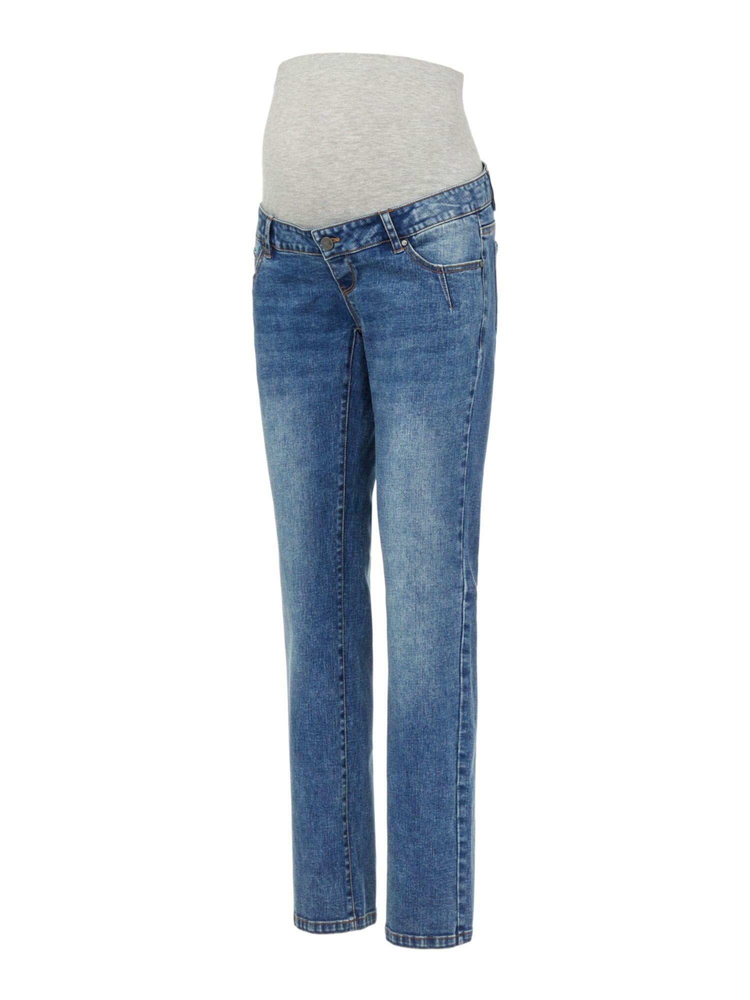 MAMALICIOUS Jean 'Aurora'  - Bleu - Taille: 30 - female