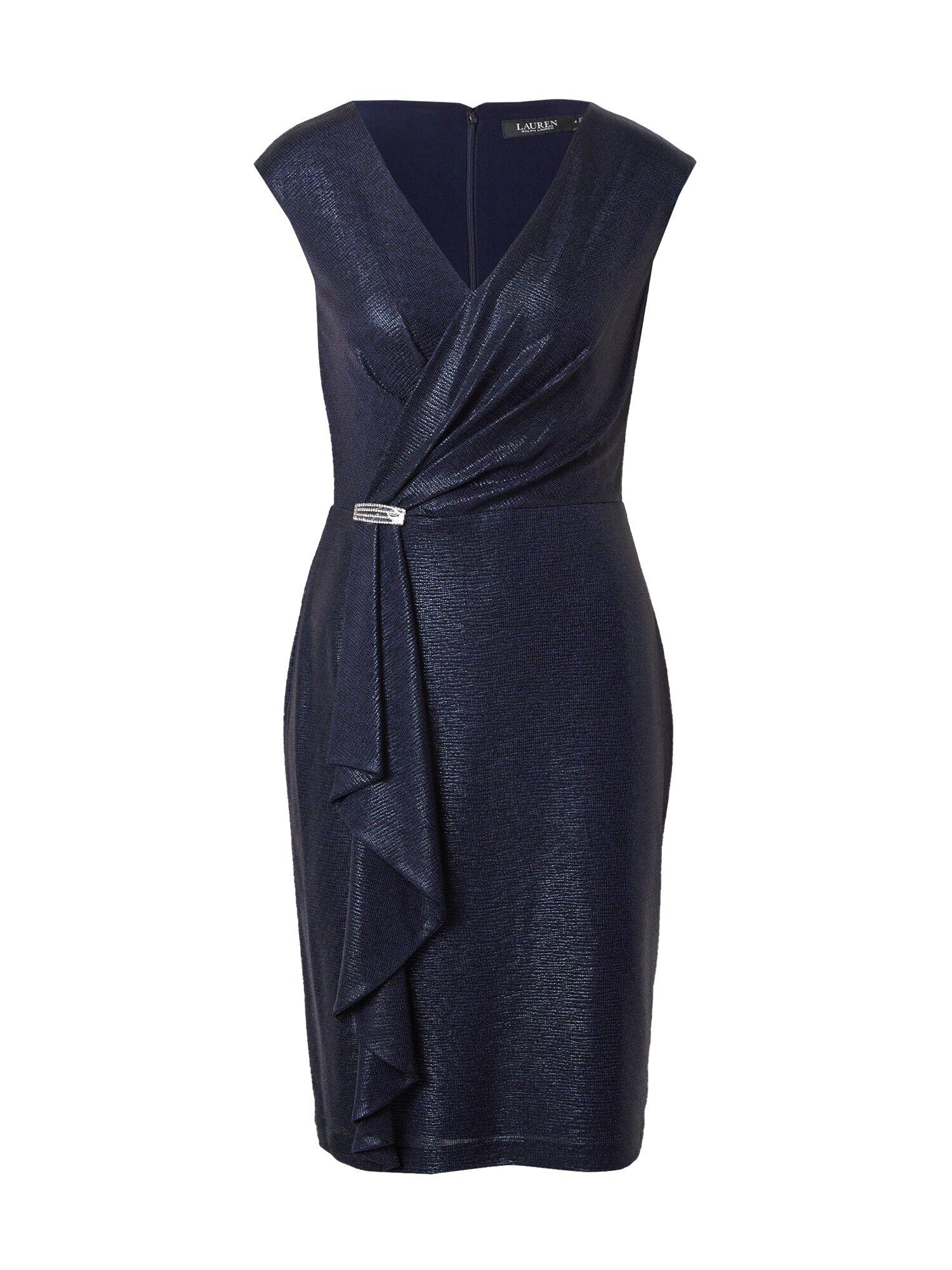Lauren Ralph Lauren Robe de cocktail 'RYDER'  - Bleu - Taille: 4 - female