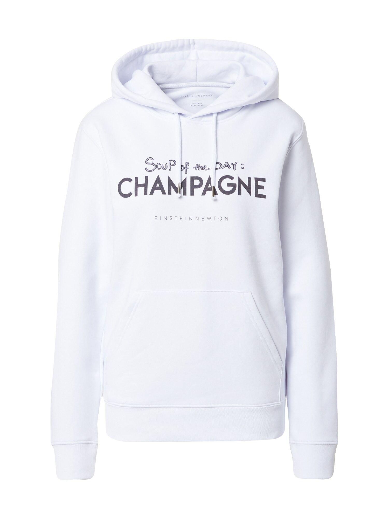 EINSTEIN & NEWTON Sweat-shirt 'Soup Brun Hilde'  - Blanc - Taille: S - female
