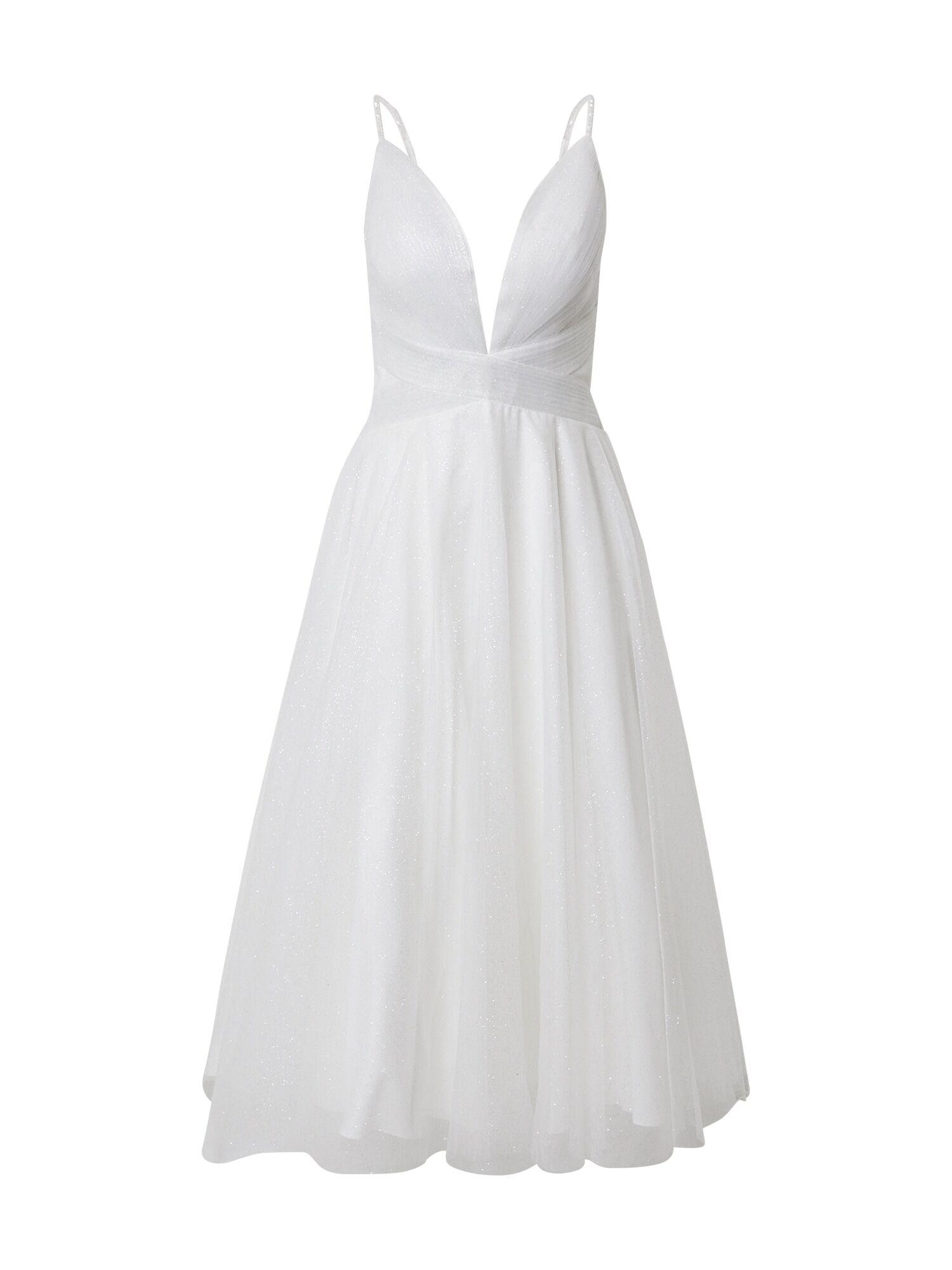 mascara Robe de soirée  - Blanc - Taille: 38 - female