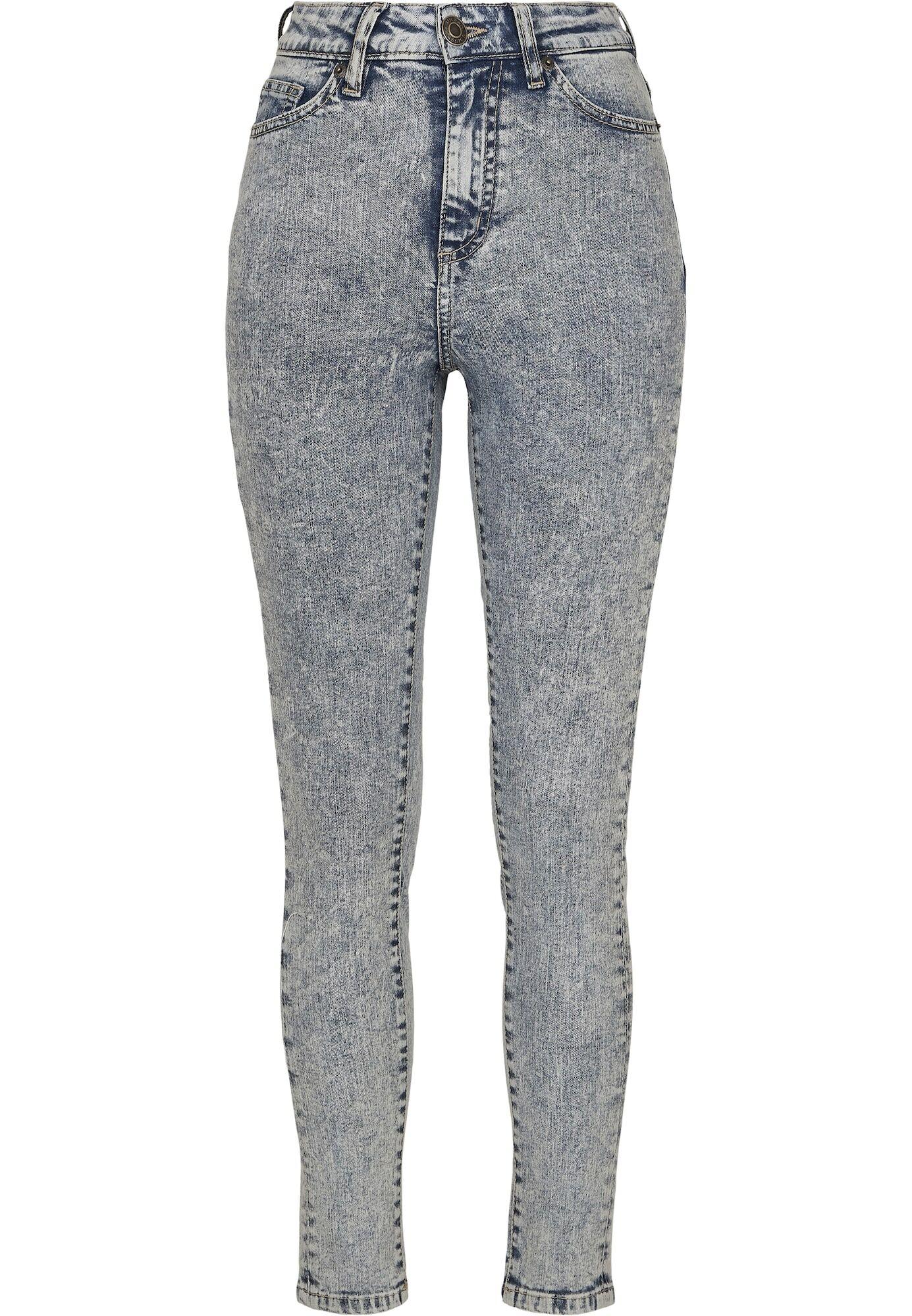 Urban Classics Jean  - Bleu - Taille: 28 - female