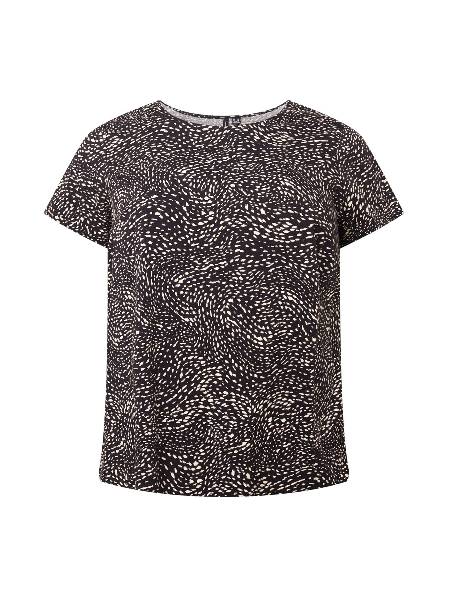 Vero Moda Curve T-shirt 'BACA'  - Noir - Taille: 46 - female