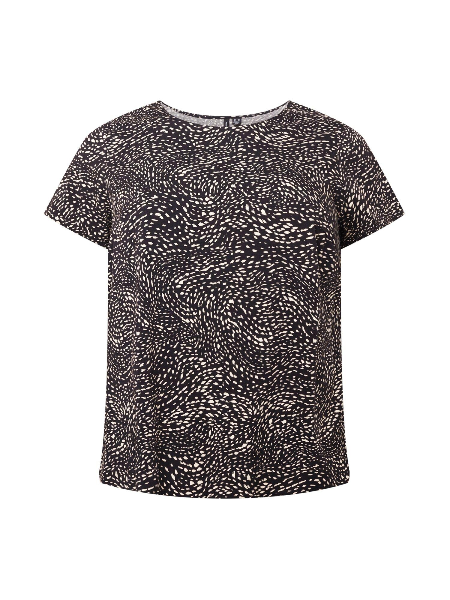 Vero Moda Curve T-shirt 'BACA'  - Noir - Taille: 52 - female