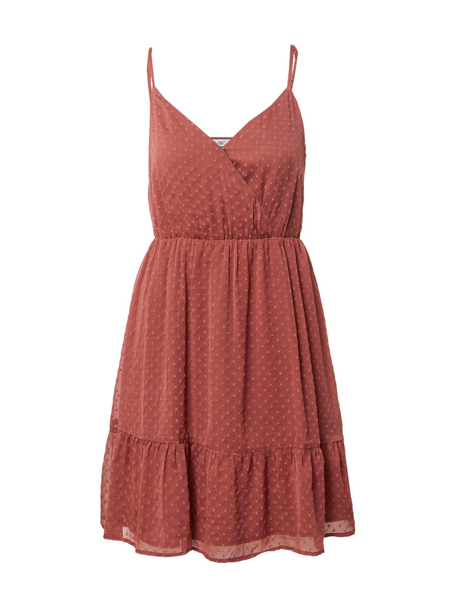ABOUT YOU Robe d'été 'Emma'  - Rouge - Taille: 38 - female