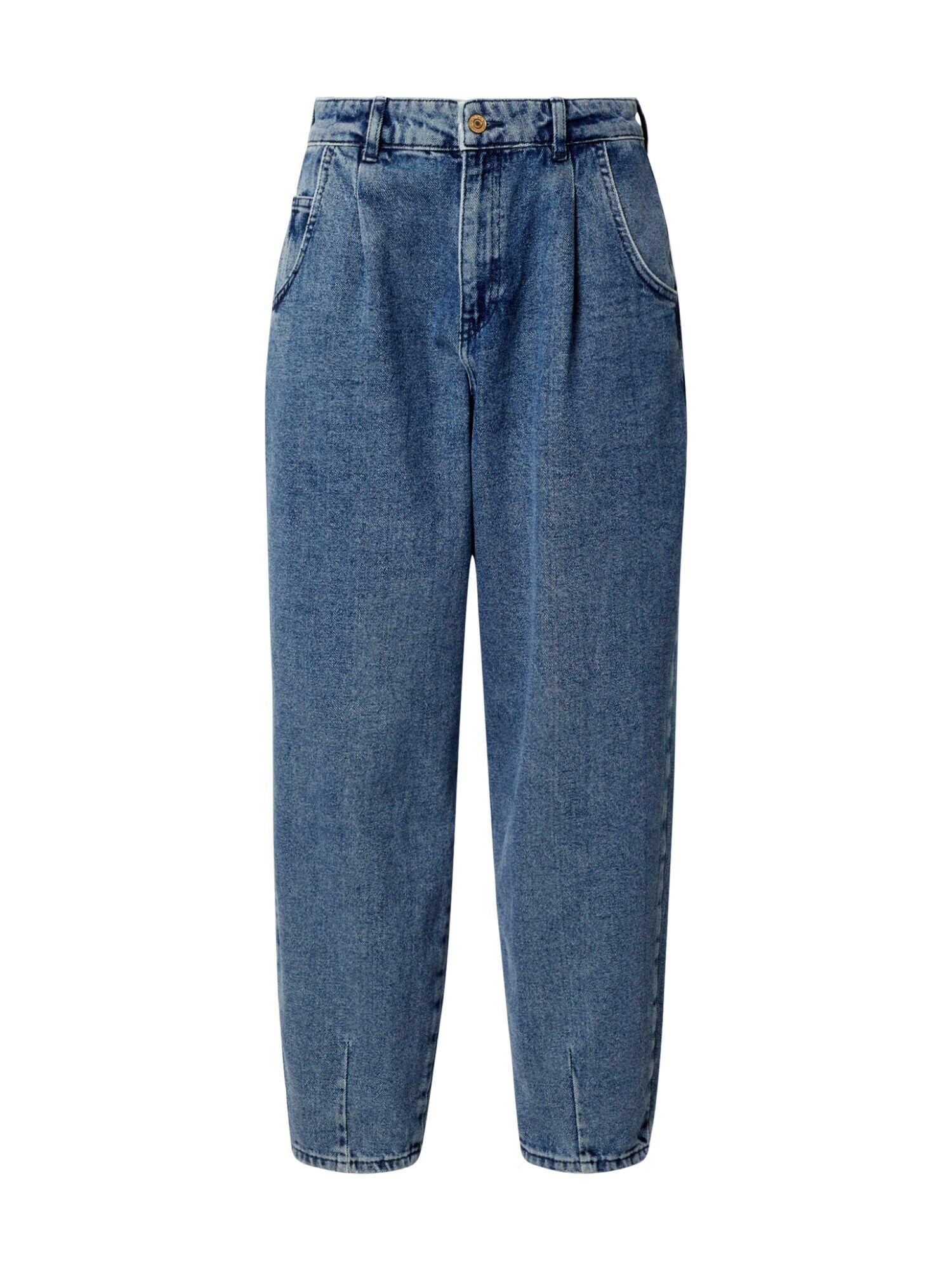ONLY Jean à pince 'VERNA'  - Bleu - Taille: M - female