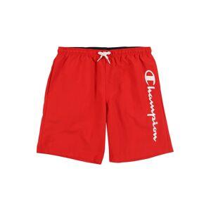 Champion Authentic Athletic Apparel Shorts de bain  - Rouge - Taille: S - boy - Publicité