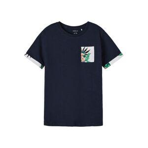 NAME IT T-Shirt 'Johan'  - Bleu - Taille: 122-128 - boy - Publicité
