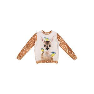 Molo T-Shirt 'Regine'  - Marron - Taille: 122 - girl - Publicité