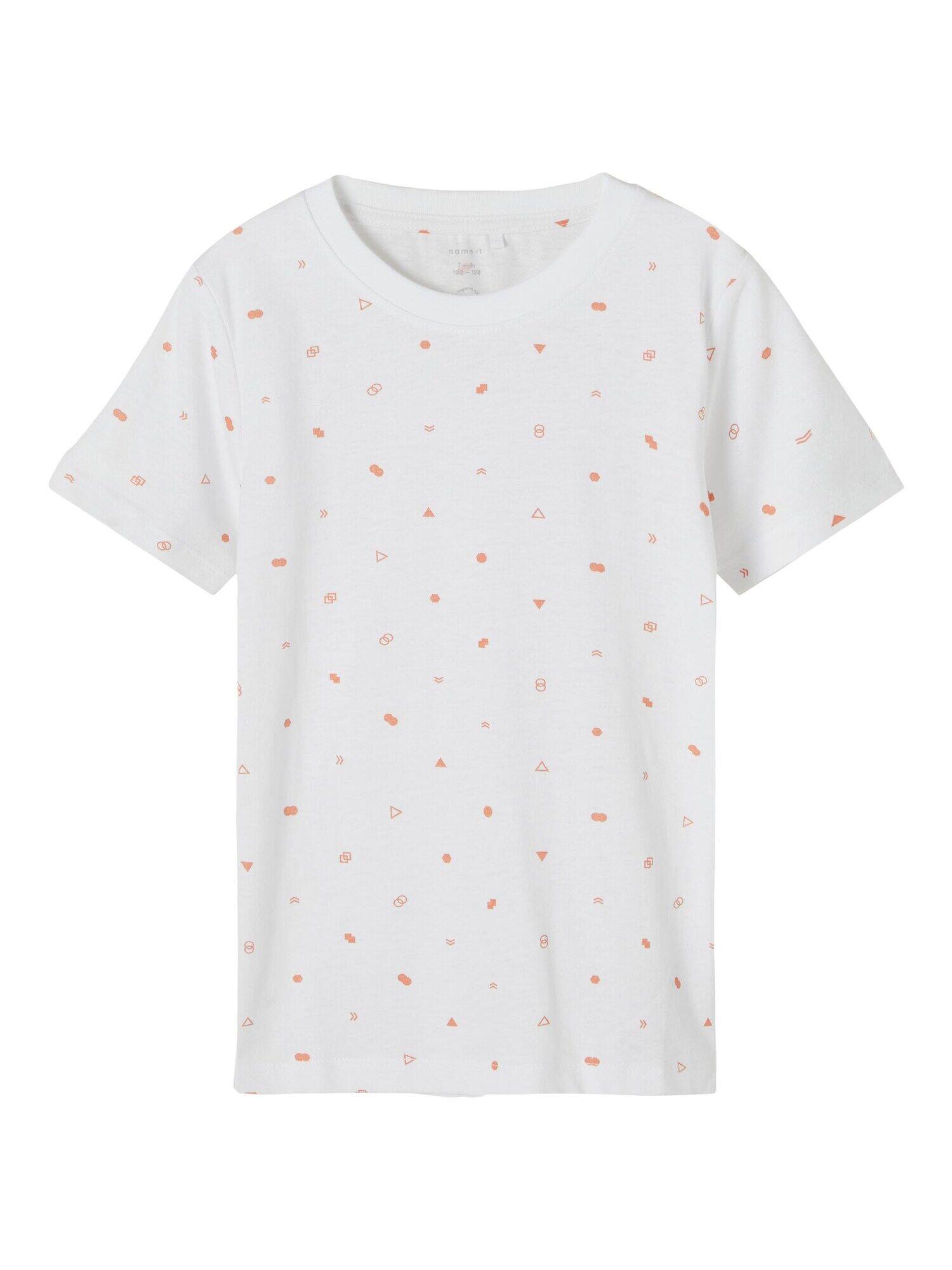 NAME IT T-Shirt 'Fallon'  - Blanc - Taille: 134-140 - boy