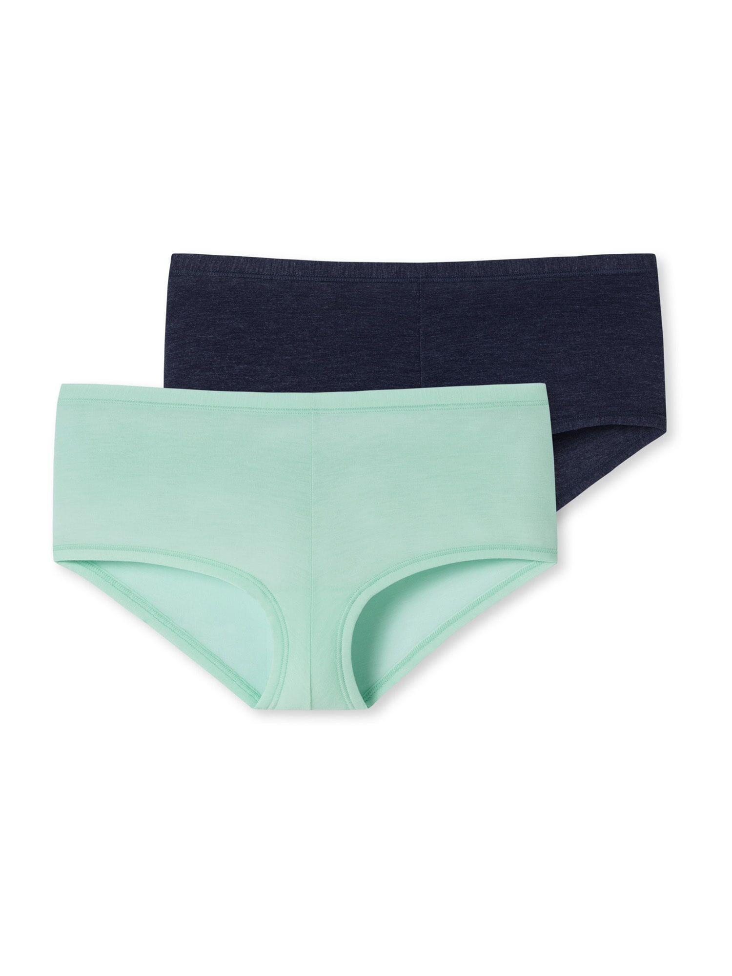 SCHIESSER Sous-vêtements ' Personal Fit '  - Vert, Bleu - Taille: 164 - girl