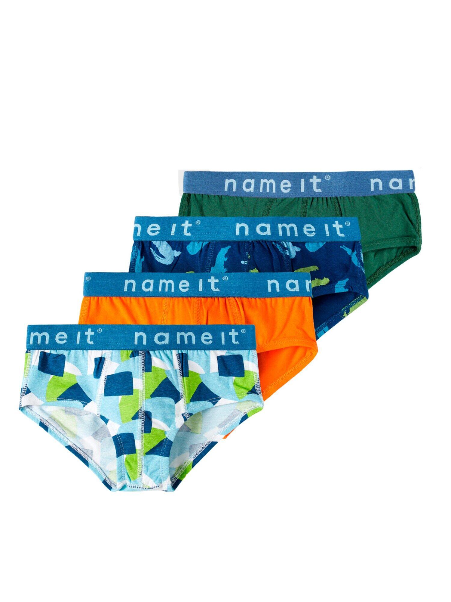 NAME IT Sous-vêtements 'Kento'  - MéLange De Couleurs - Taille: 122-128 - boy