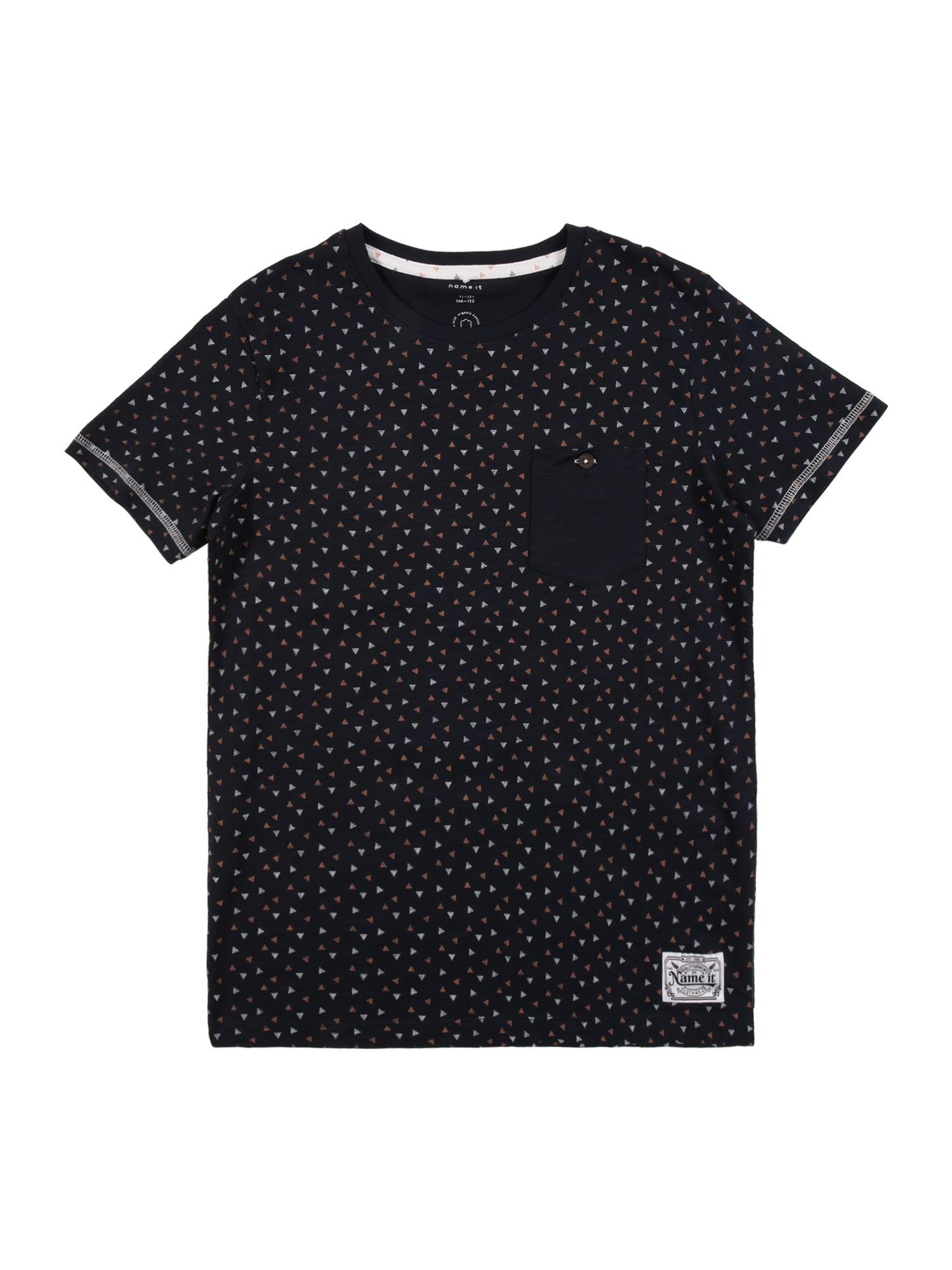 NAME IT T-Shirt 'TRUMAN'  - Bleu - Taille: 138 - boy