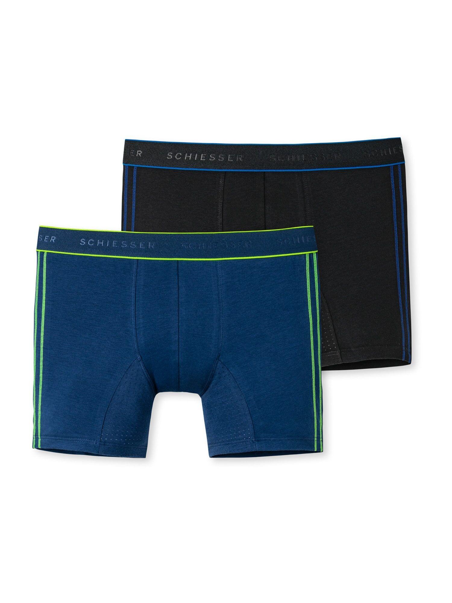SCHIESSER Sous-vêtements ' Personal Fit Cotton '  - Bleu - Taille: 140 - boy