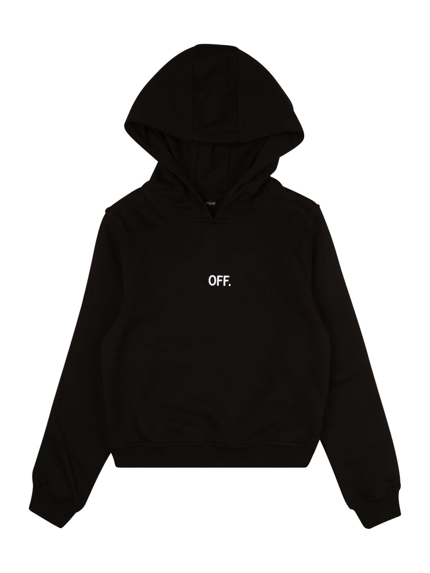 Tee Sweat 'OFF'  - Noir - Taille: 122-128 - boy