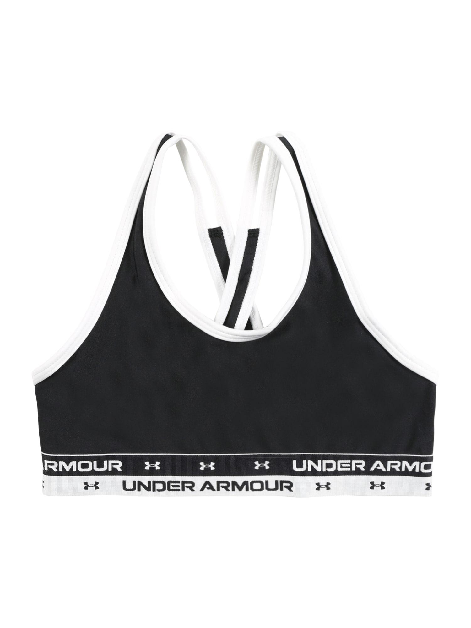 UNDER ARMOUR Sous-vêtements de sport  - Noir - Taille: YM - girl