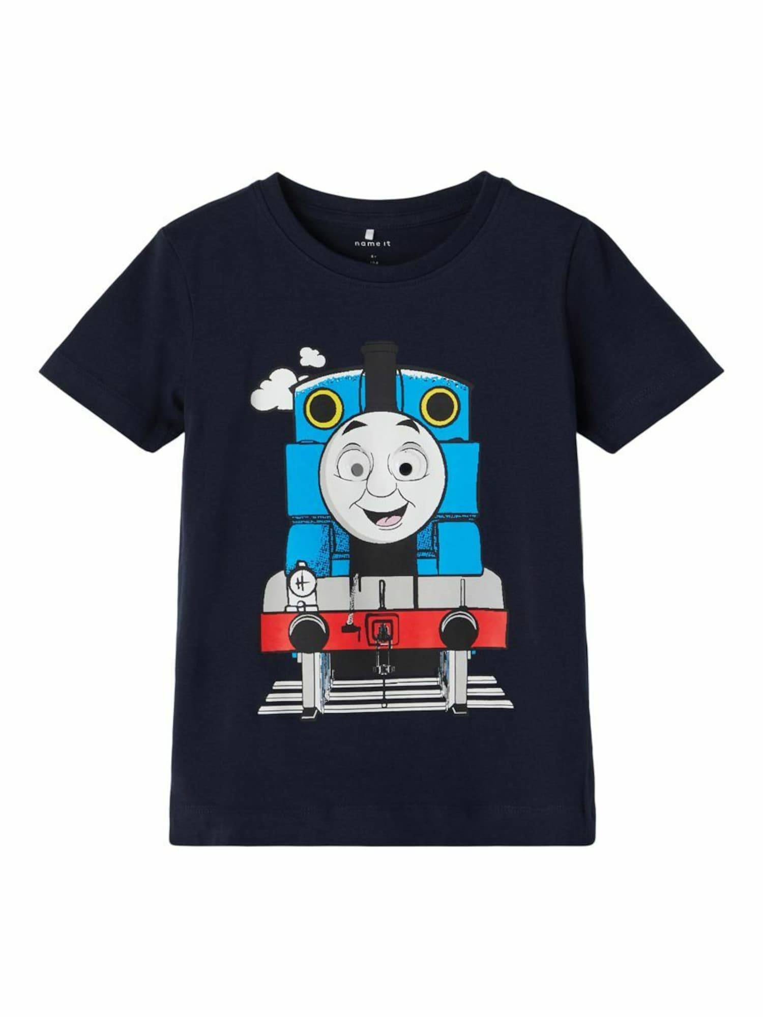 NAME IT T-Shirt 'Thomas Train'  - Bleu - Taille: 110 - boy