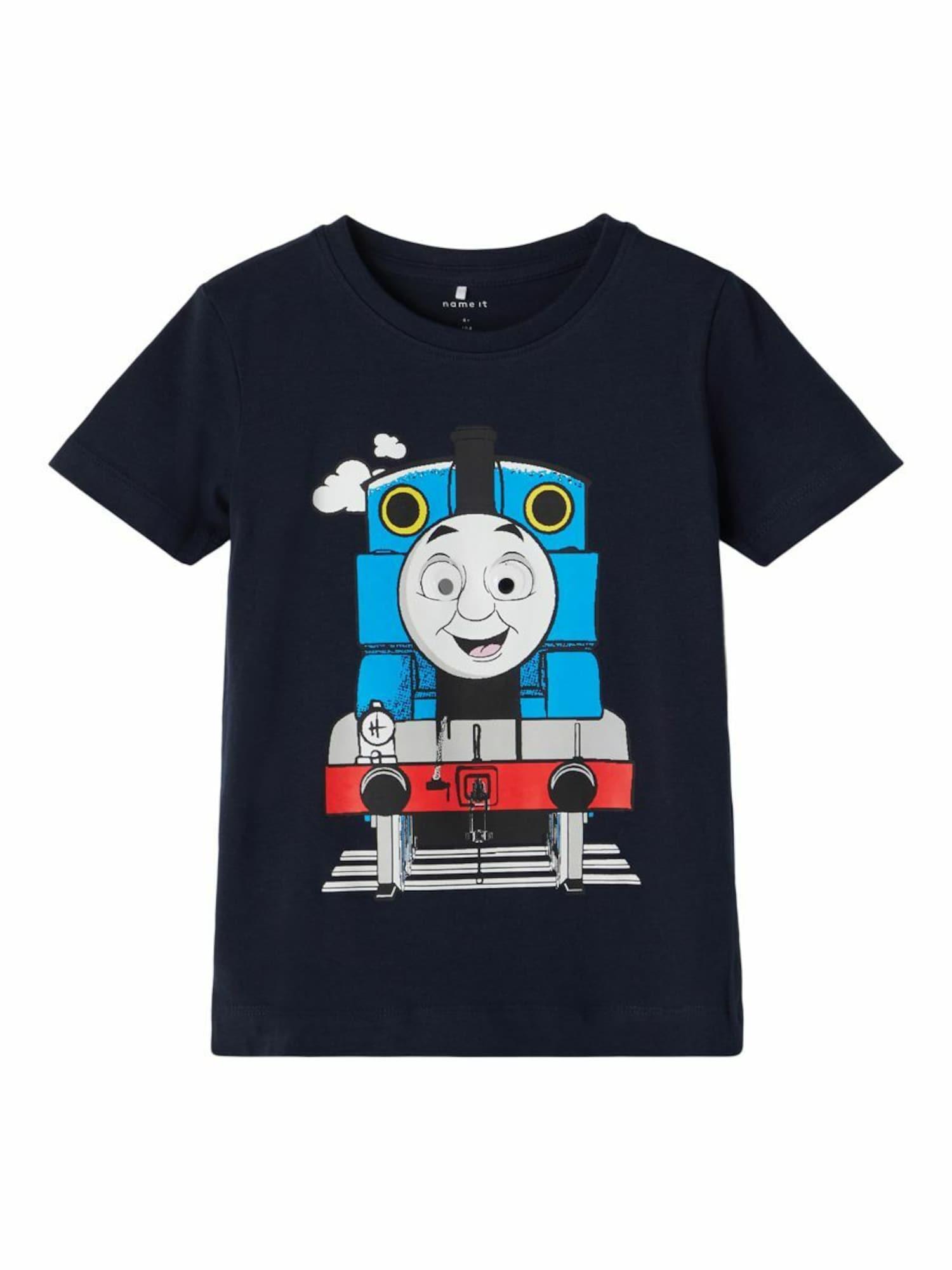 NAME IT T-Shirt 'Thomas Train'  - Bleu - Taille: 92 - boy