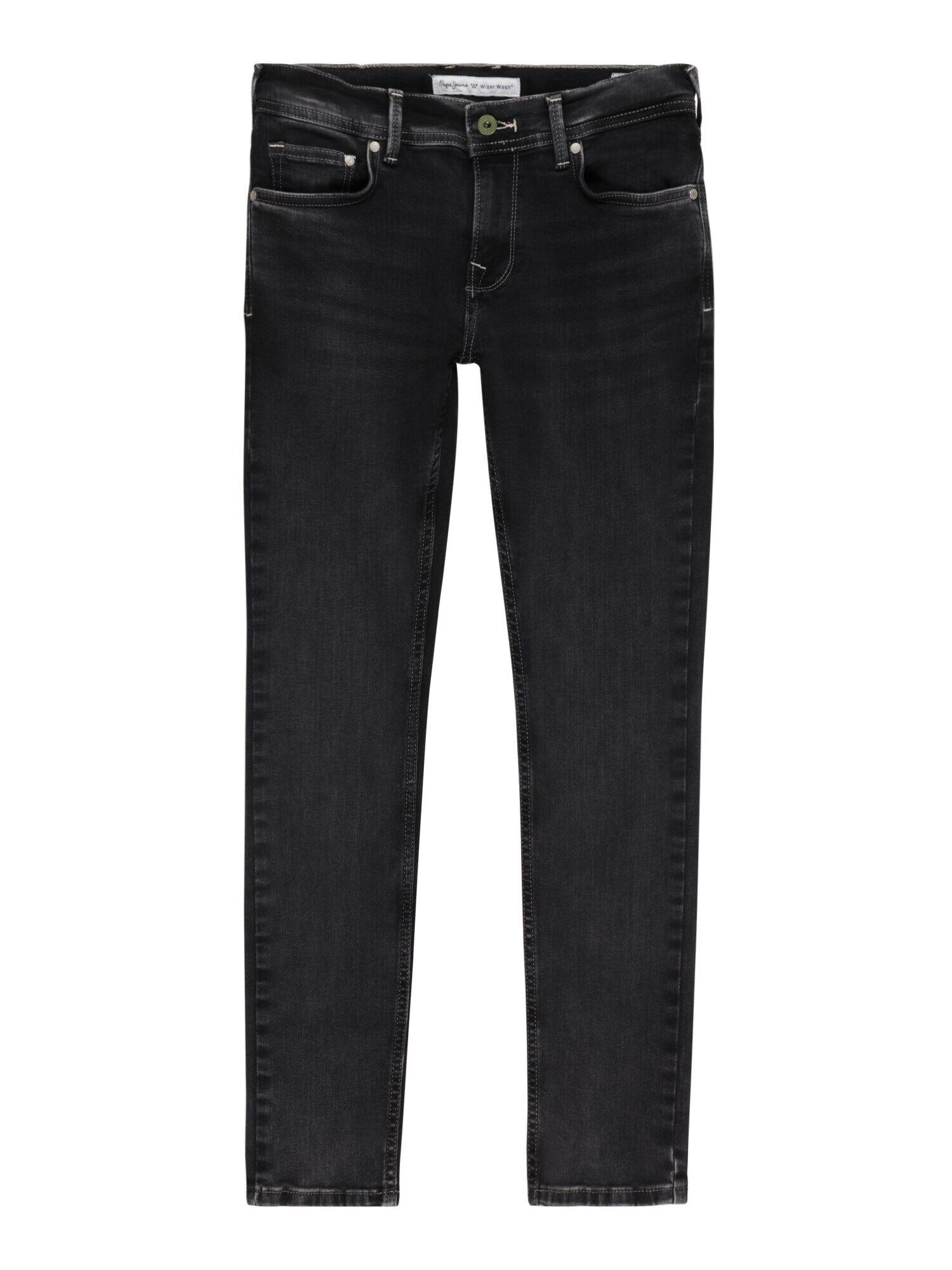 Pepe Jeans Jean 'FINLY'  - Bleu - Taille: 14 - boy