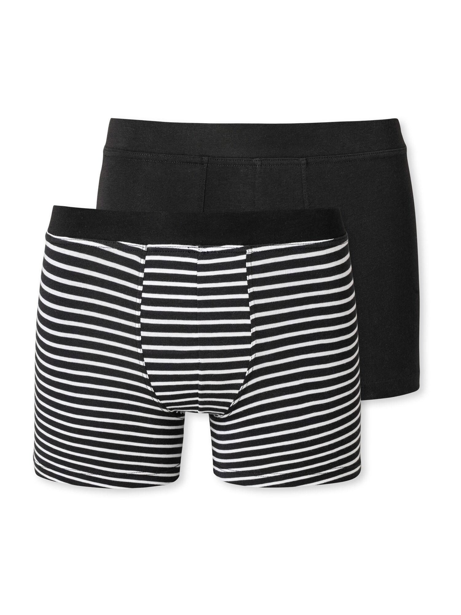 SCHIESSER Sous-vêtements ' 2er-Pack Basic Kids '  - Noir - Taille: 176 - boy