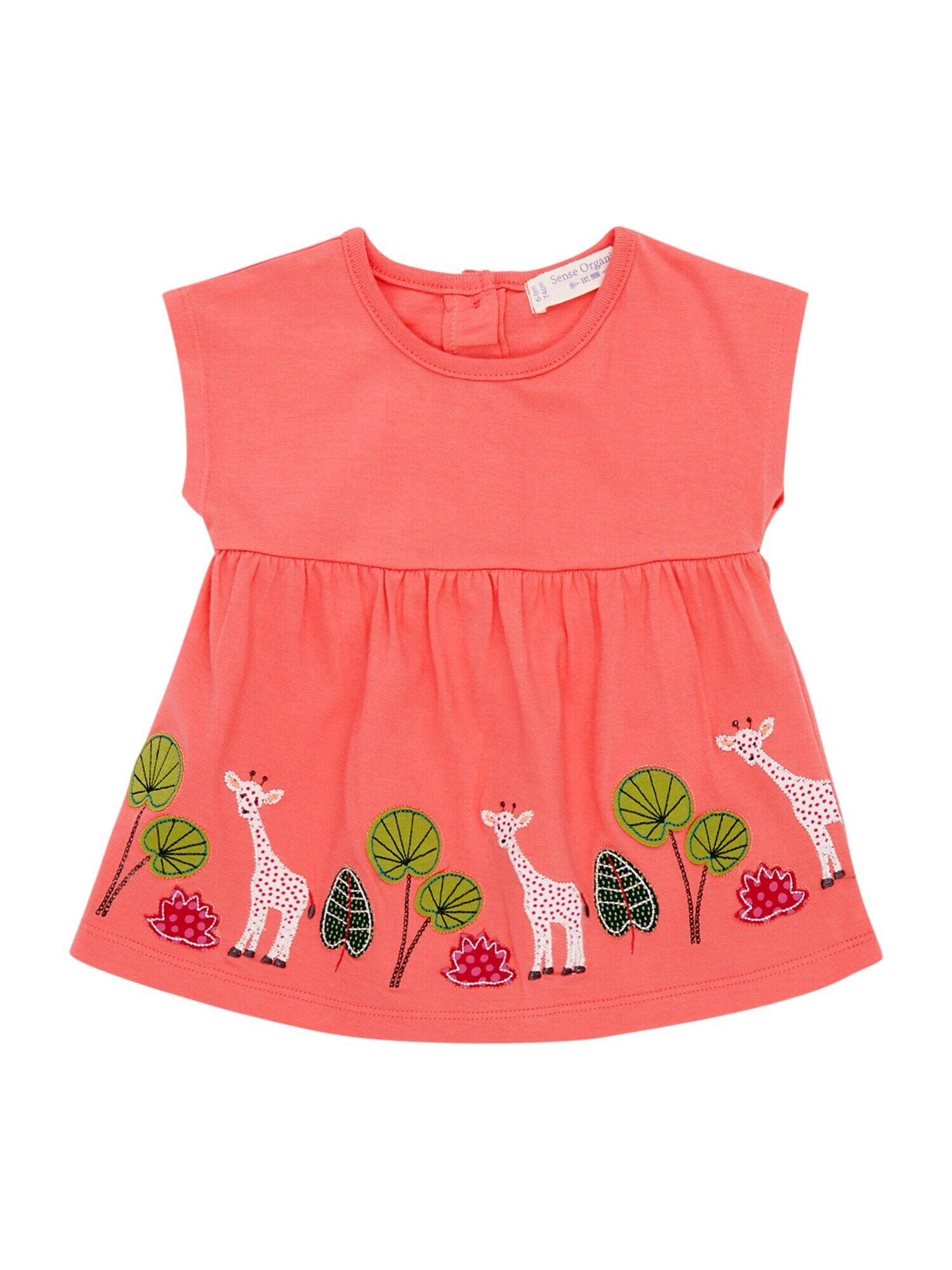 Sense Organics T-Shirt 'AURORA'  - Orange - Taille: 3M - girl
