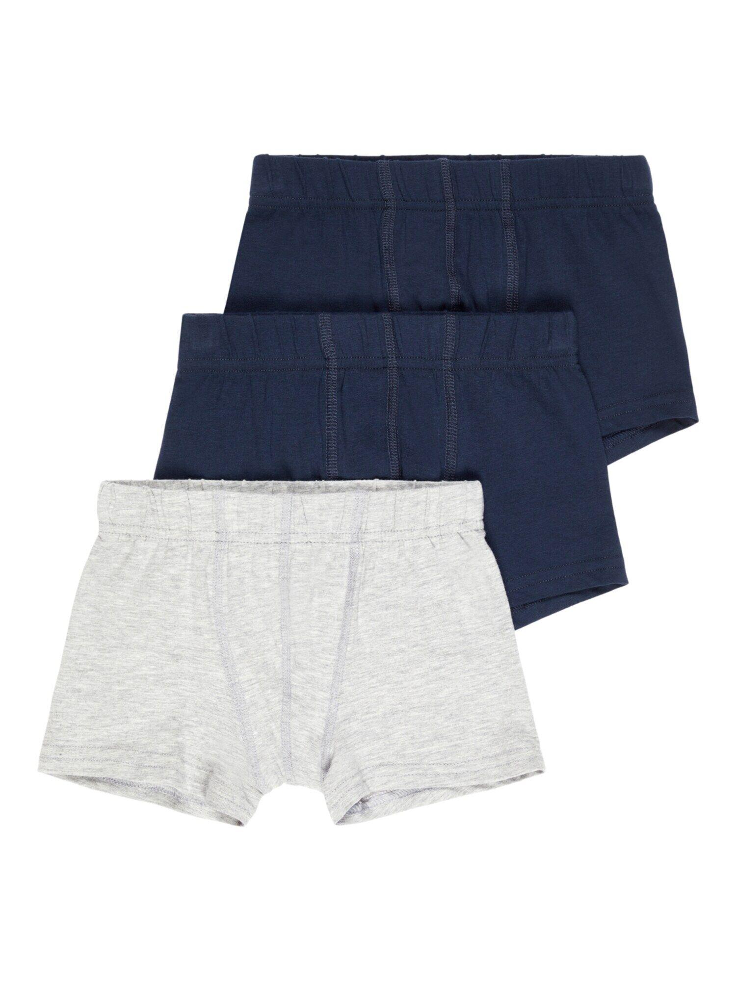 NAME IT Sous-vêtements  - Gris, Bleu - Taille: 92 - boy