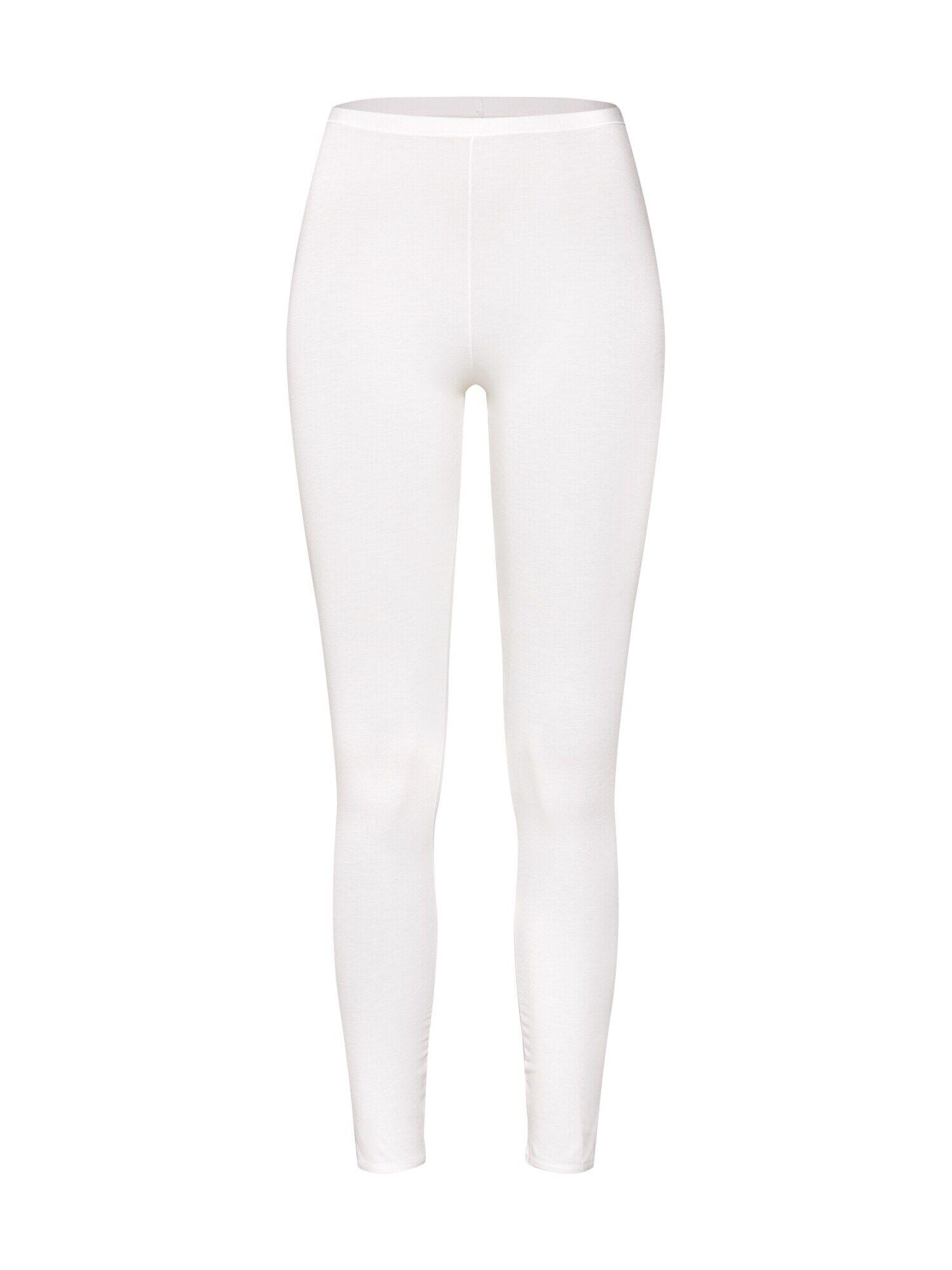 SCHIESSER Pantalon de pyjama 'Personal Fit'  - Blanc - Taille: M - female