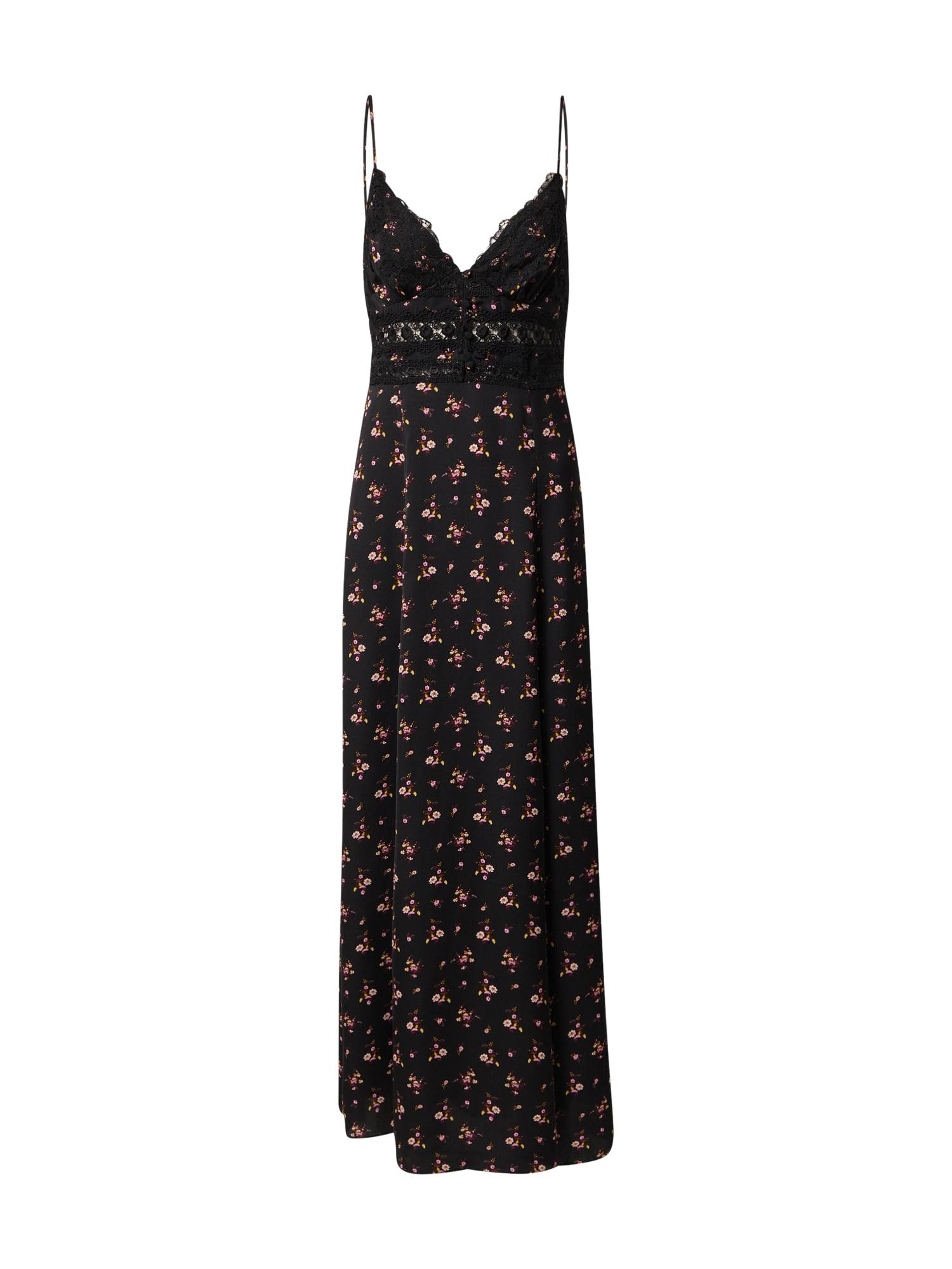 Free People Chemise de nuit 'OUT & ABOUT'  - Noir - Taille: XS - female