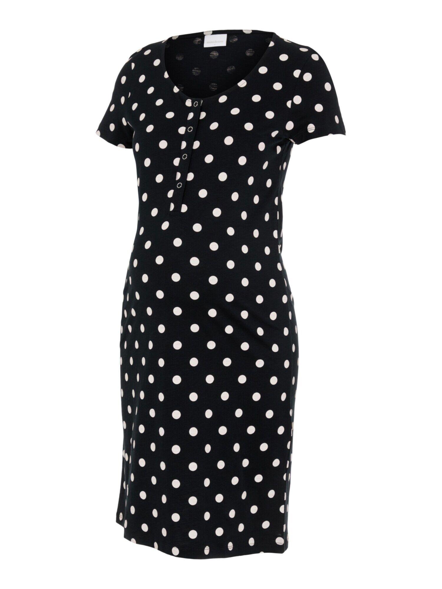 MAMALICIOUS Chemise de nuit  - Noir - Taille: XL - female