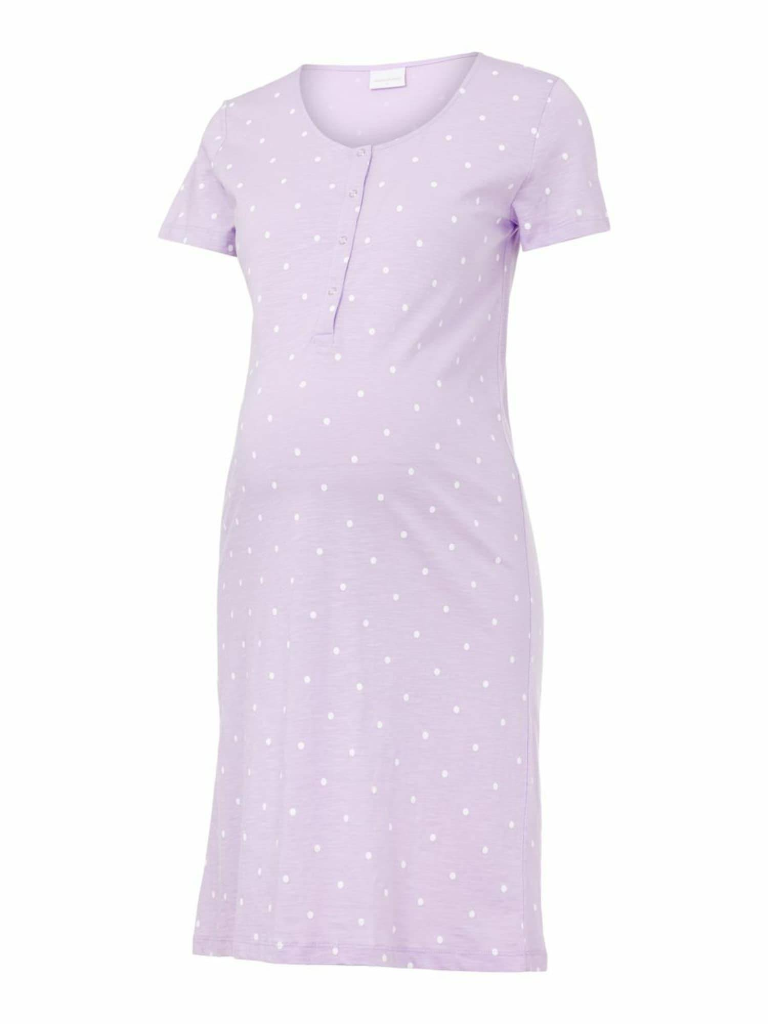 MAMALICIOUS Chemise de nuit 'Chill Lia'  - Violet - Taille: S - female