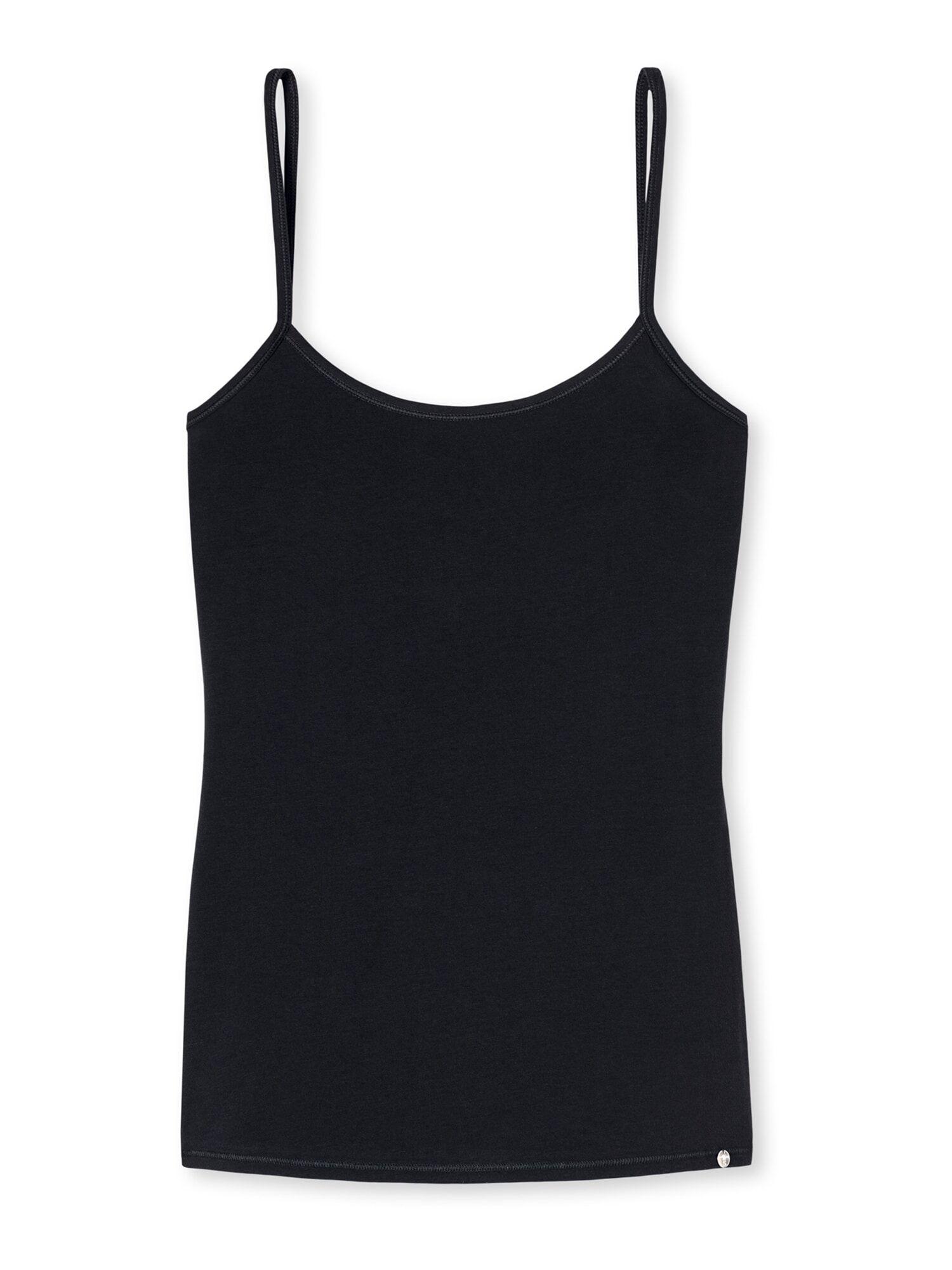 SCHIESSER Haut ' 95/5 '  - Noir - Taille: 40 - female