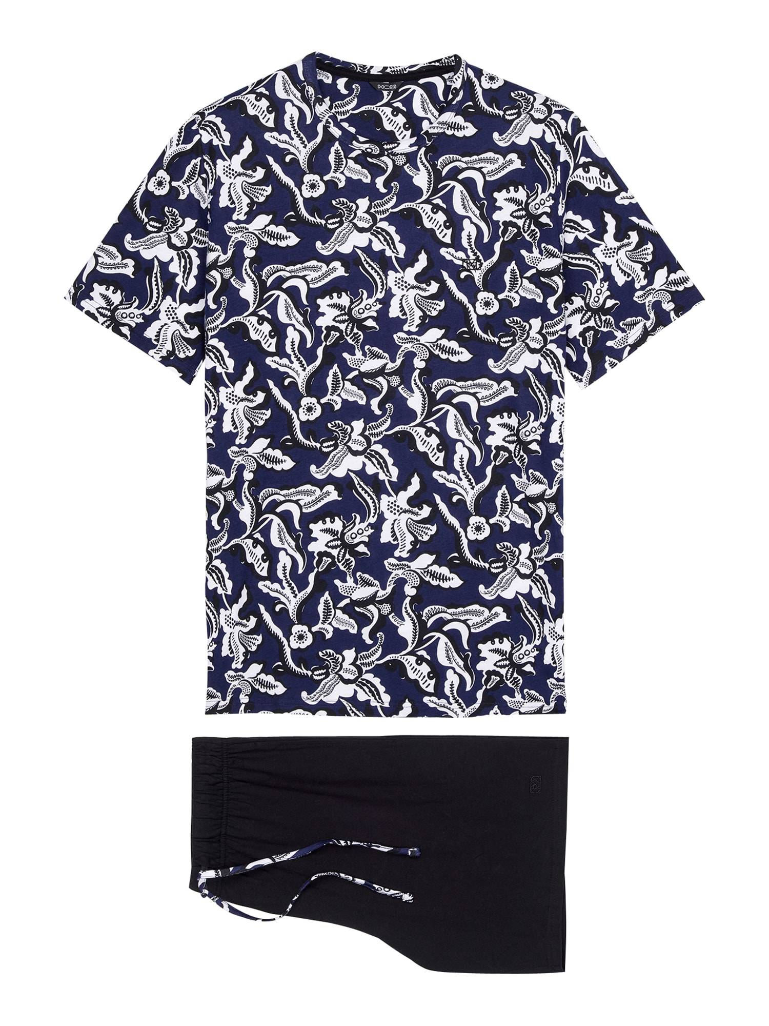 HOM Pyjama court ' Catalan '  - Bleu - Taille: L - male