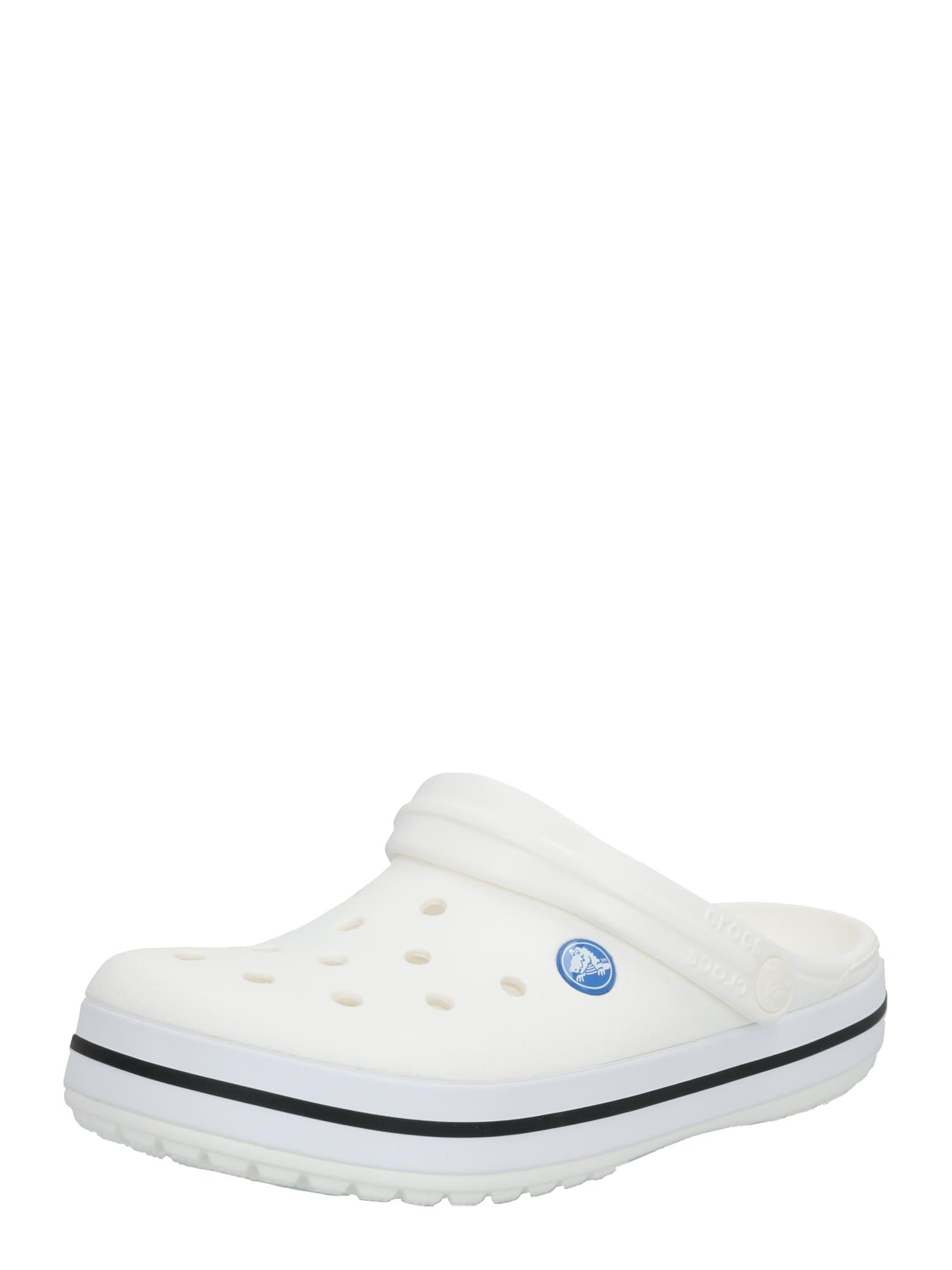 Crocs Sabots 'Crocband'  - Blanc - Taille: M12 - male