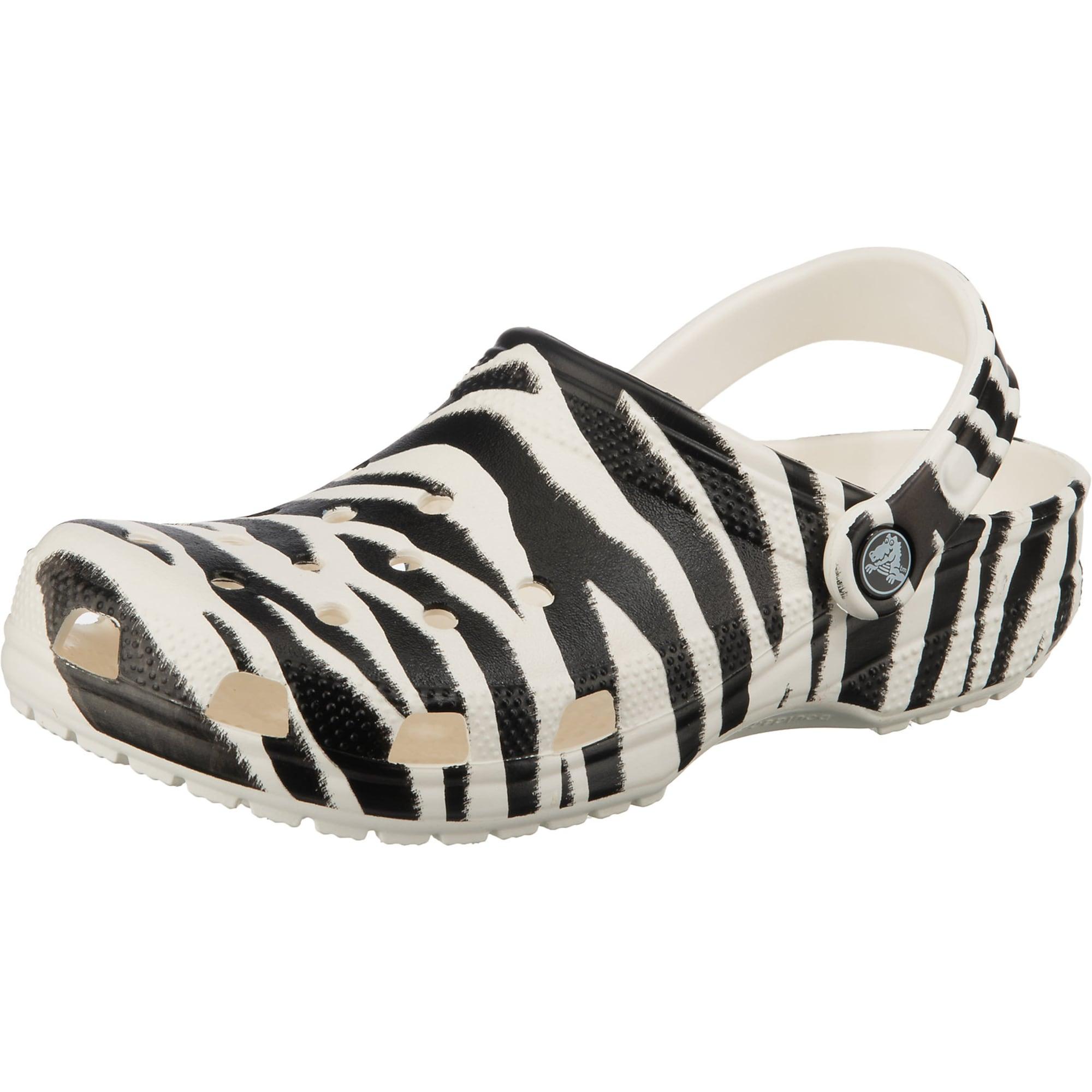 Crocs Sabots  - Blanc, Noir - Taille: 42-43 - male